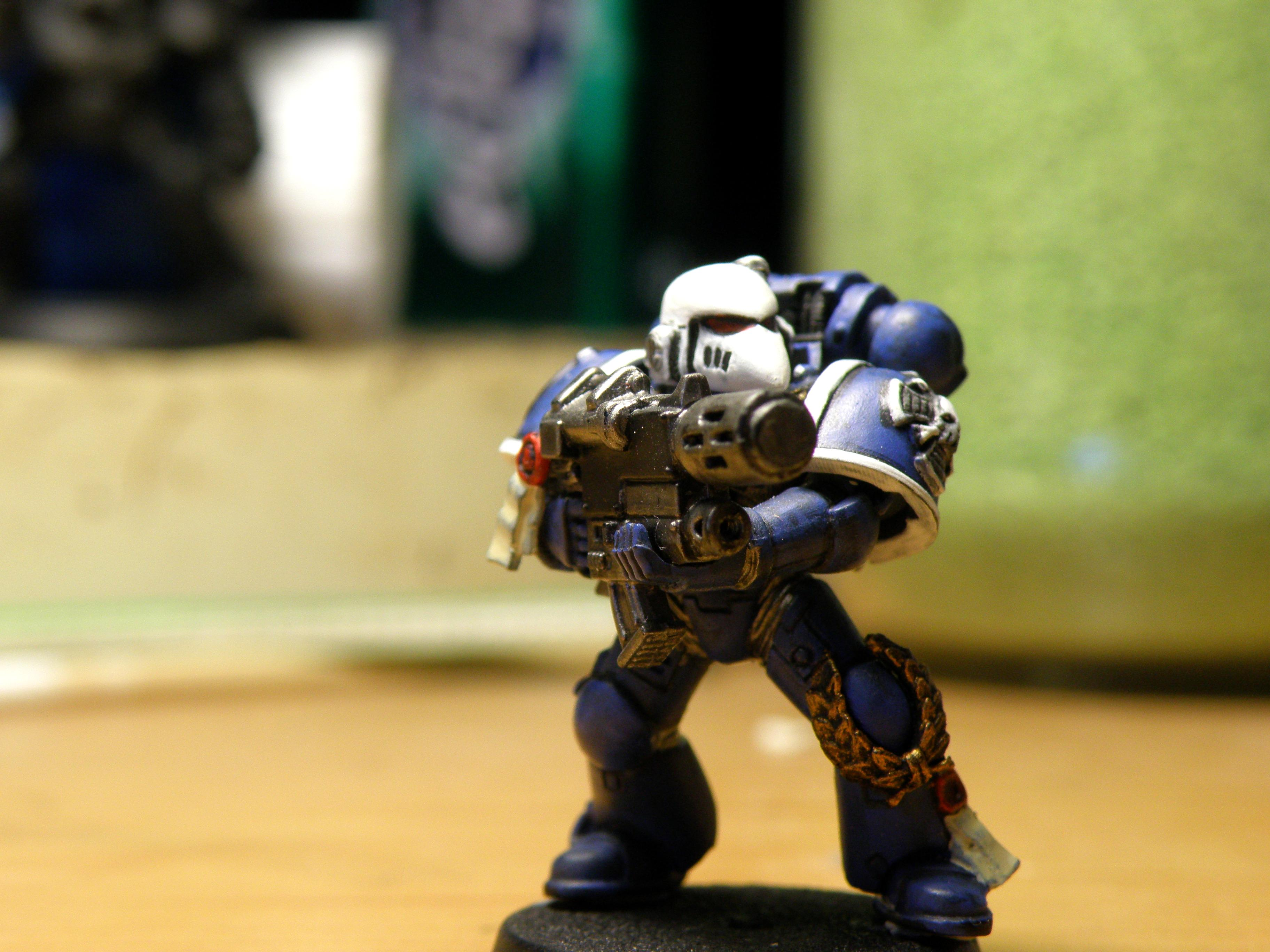 1st, 1st Company, Blue, Combi Bolter, Conversion, Cool, Meltagun, Space Marines, Sternguard, Ultramarines, White