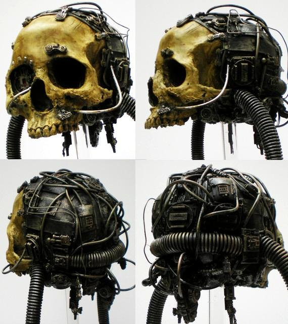 Imperial, Life Size, Servo, Skull, Space, Space Marines, Warhammer Fantasy