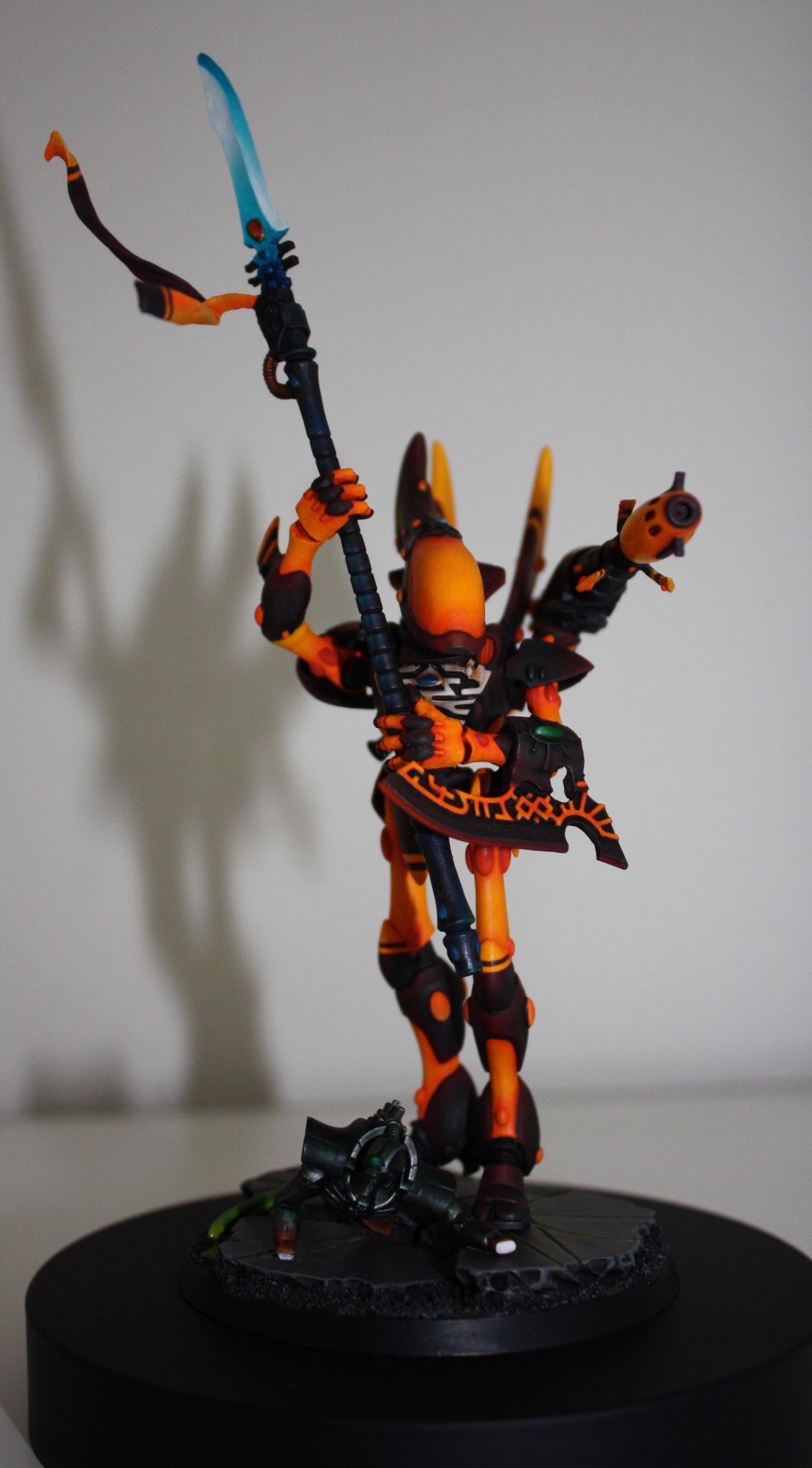 Eldar, Warhammer 40,000, Wraithlord, Wraithseer