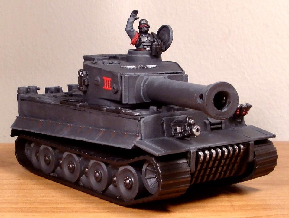 Do-it-yourself, Imperial Guard, Leman Russ, Tiger I, Warhammer 40,000