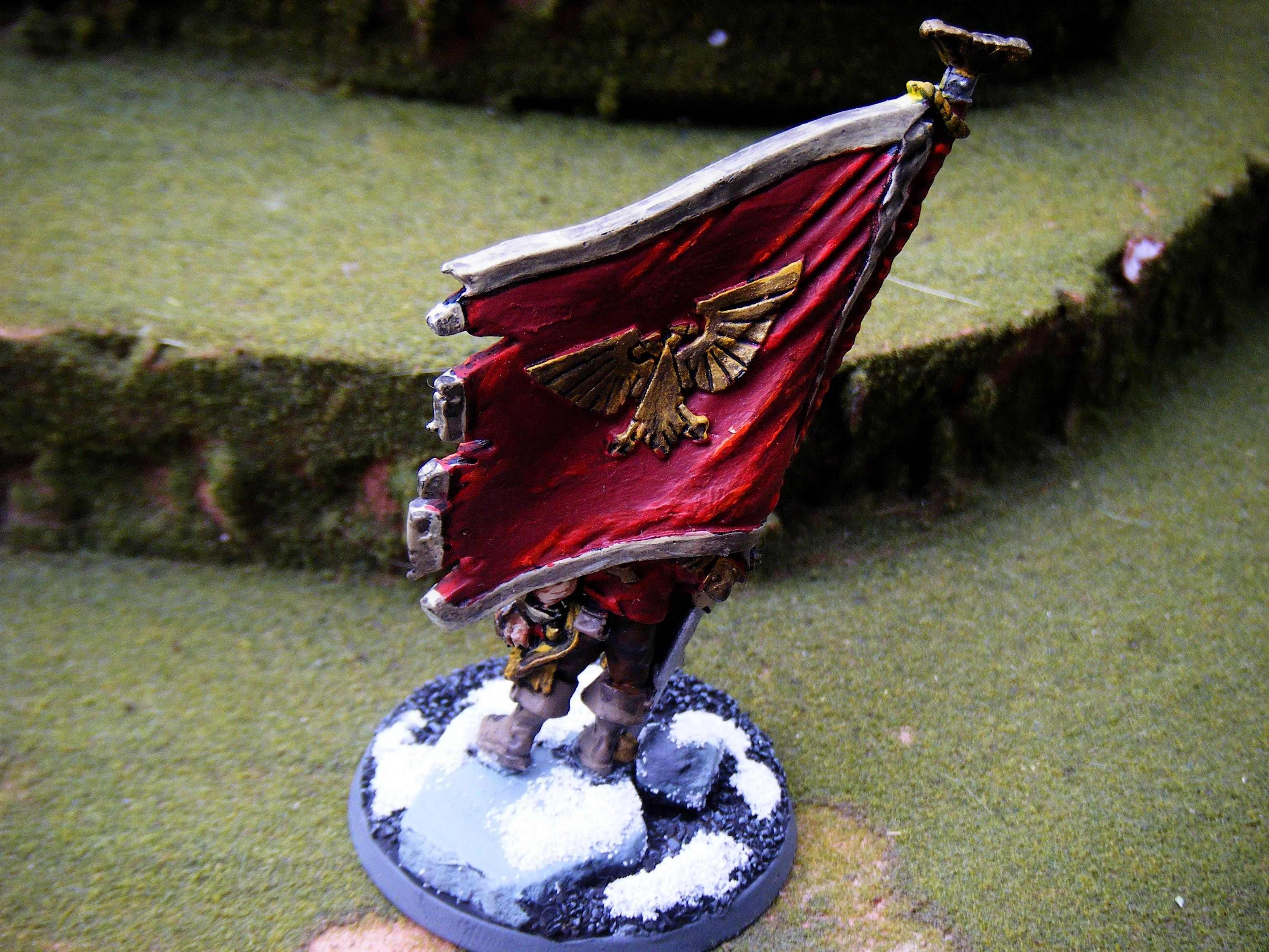 Imperial Guard, banner bearer back