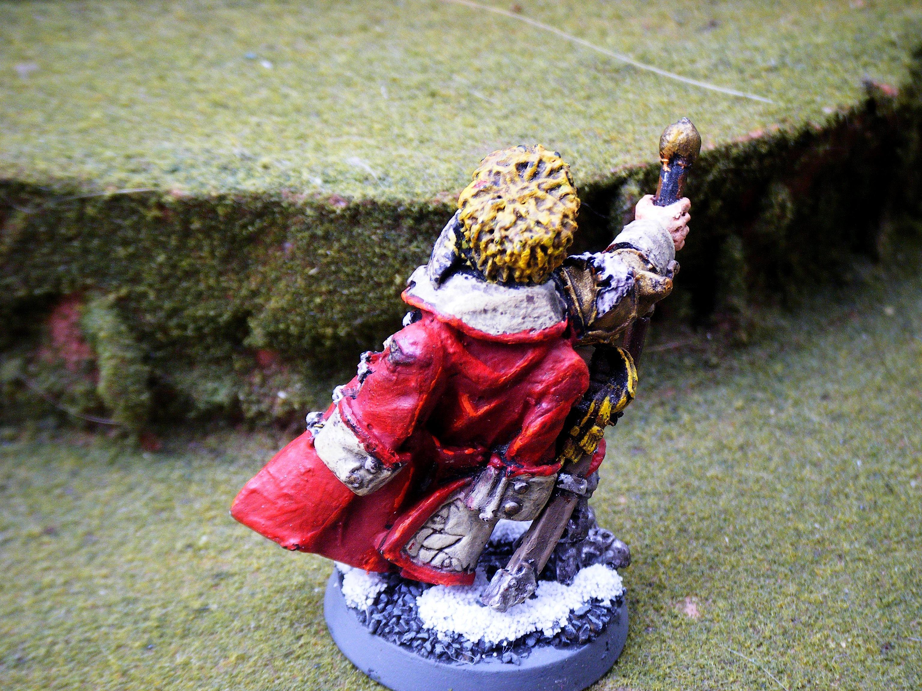 Imperial Guard, company commander back