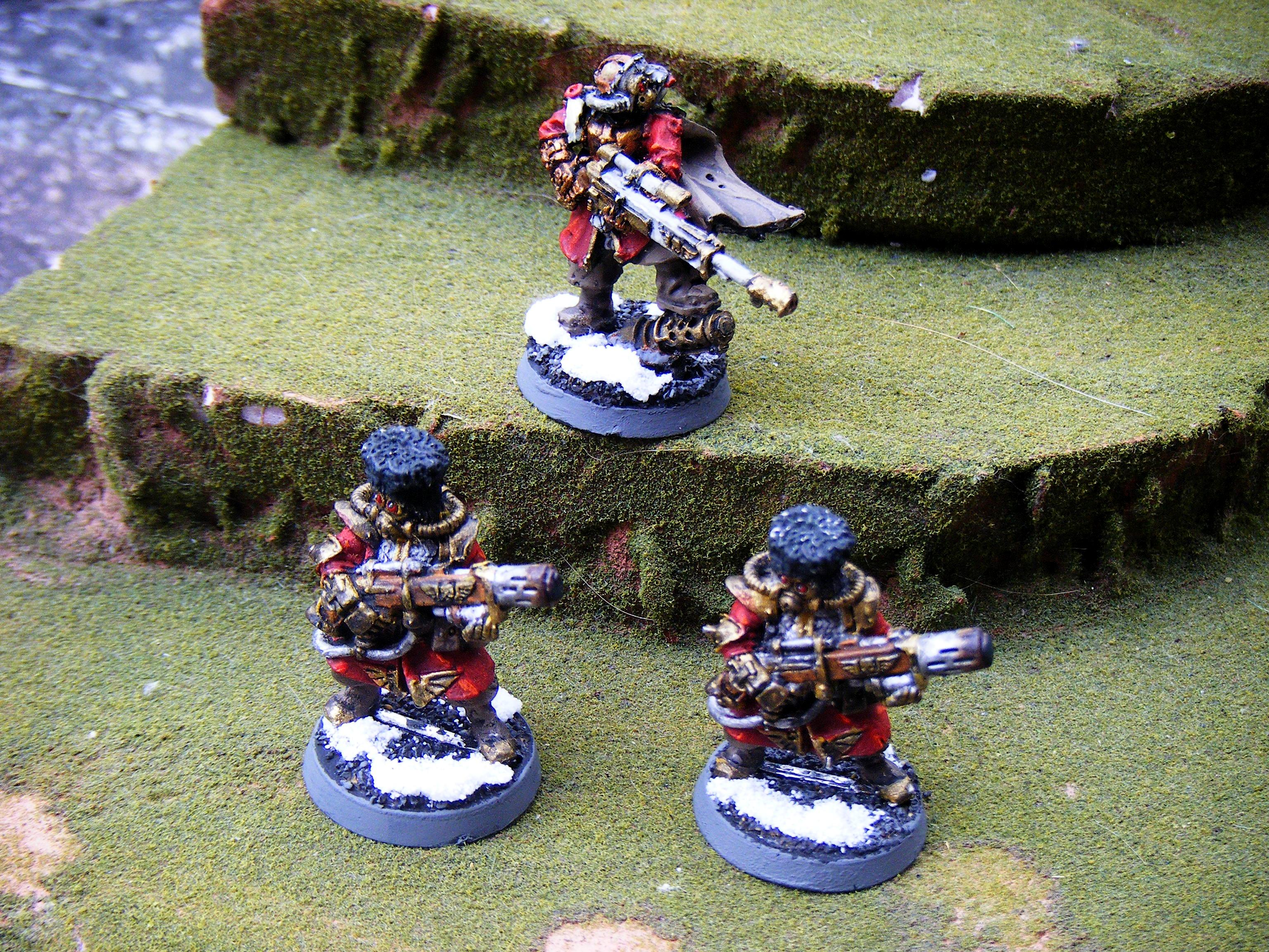 Imperial Guard, weapons