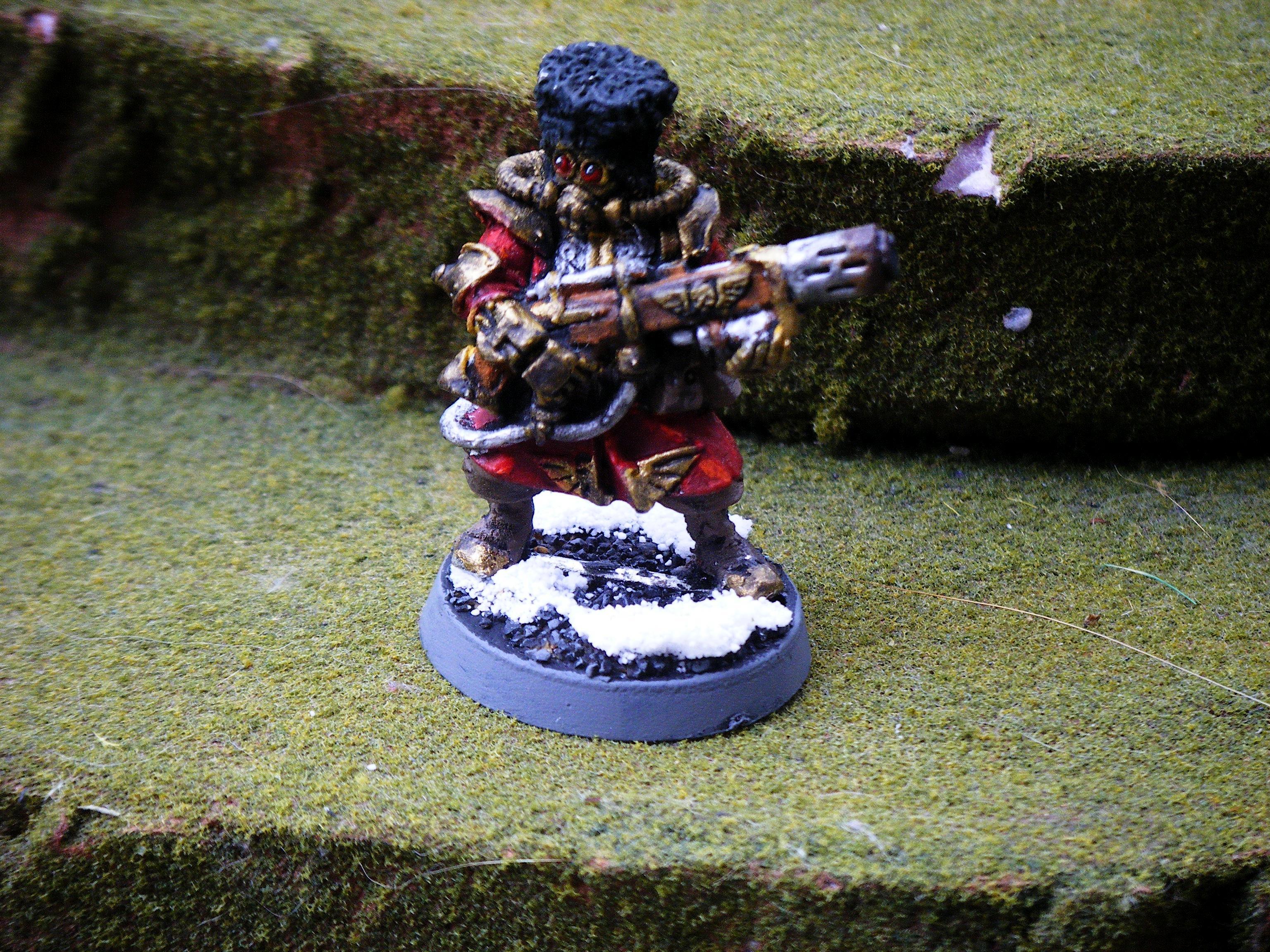 Imperial Guard, melta gunner 2