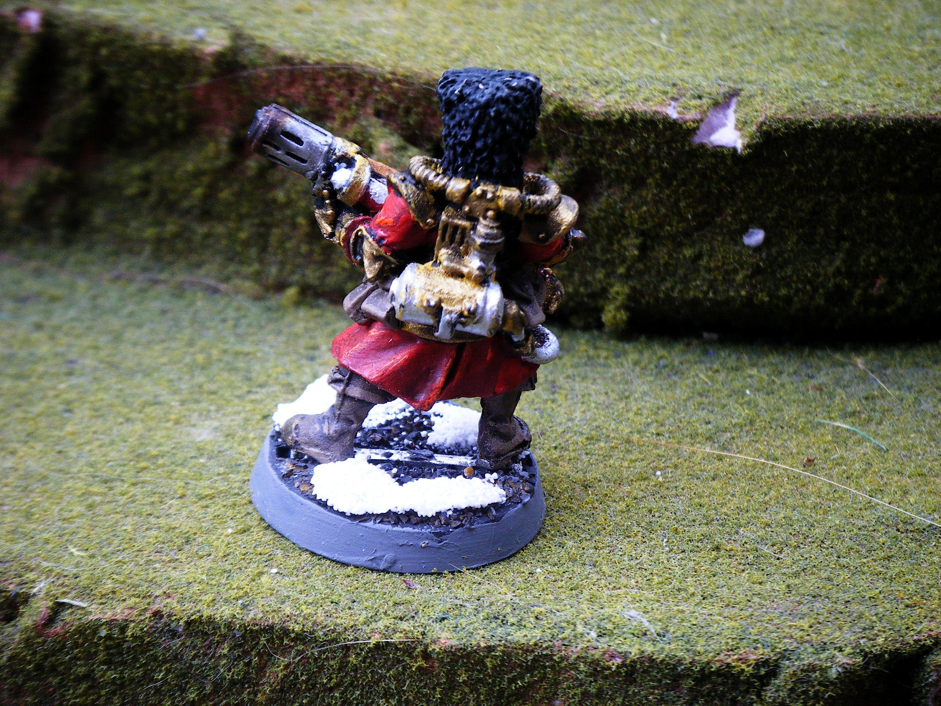 Imperial Guard, melta gunner 2 back