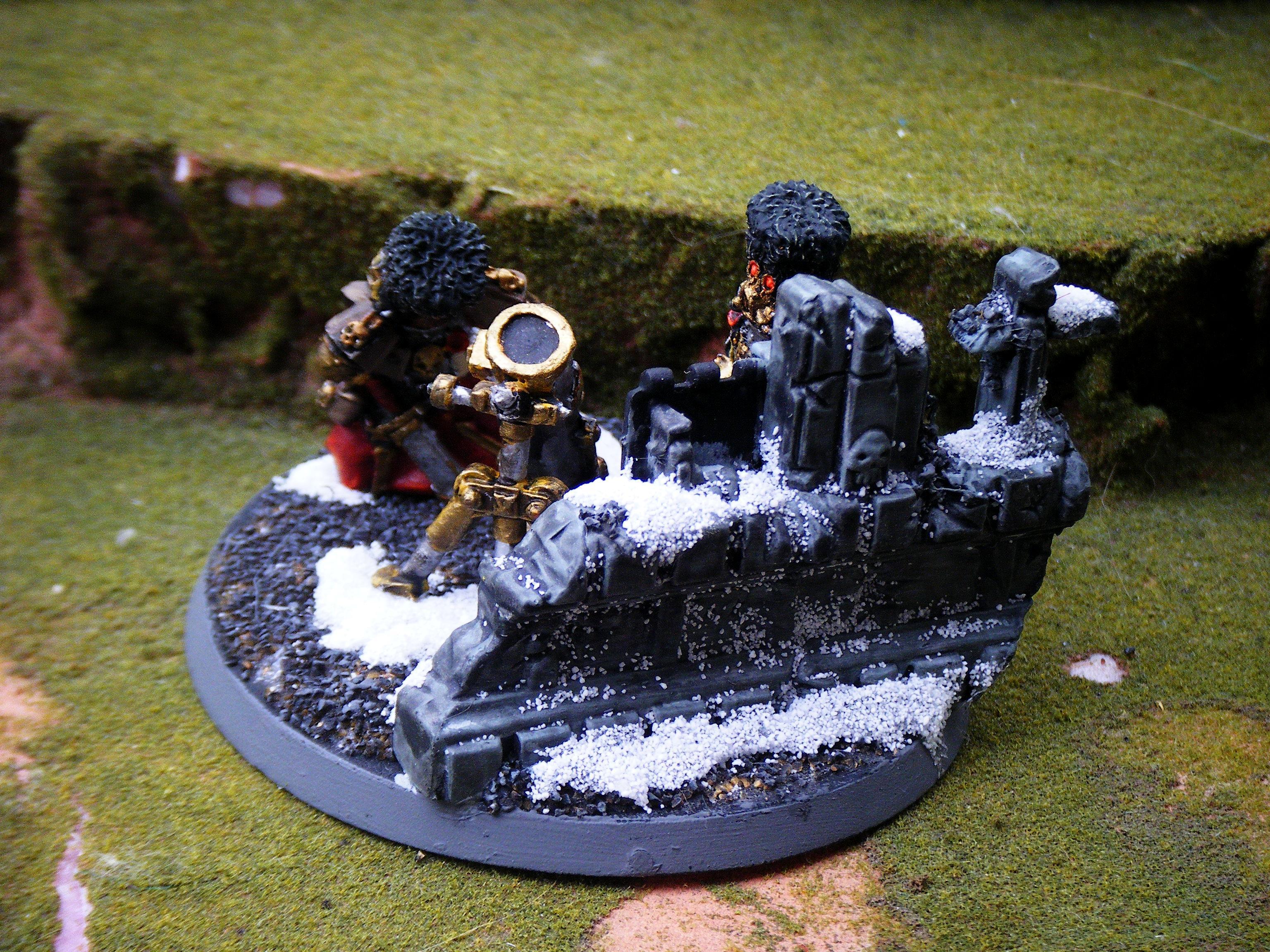 Imperial Guard, mortar team