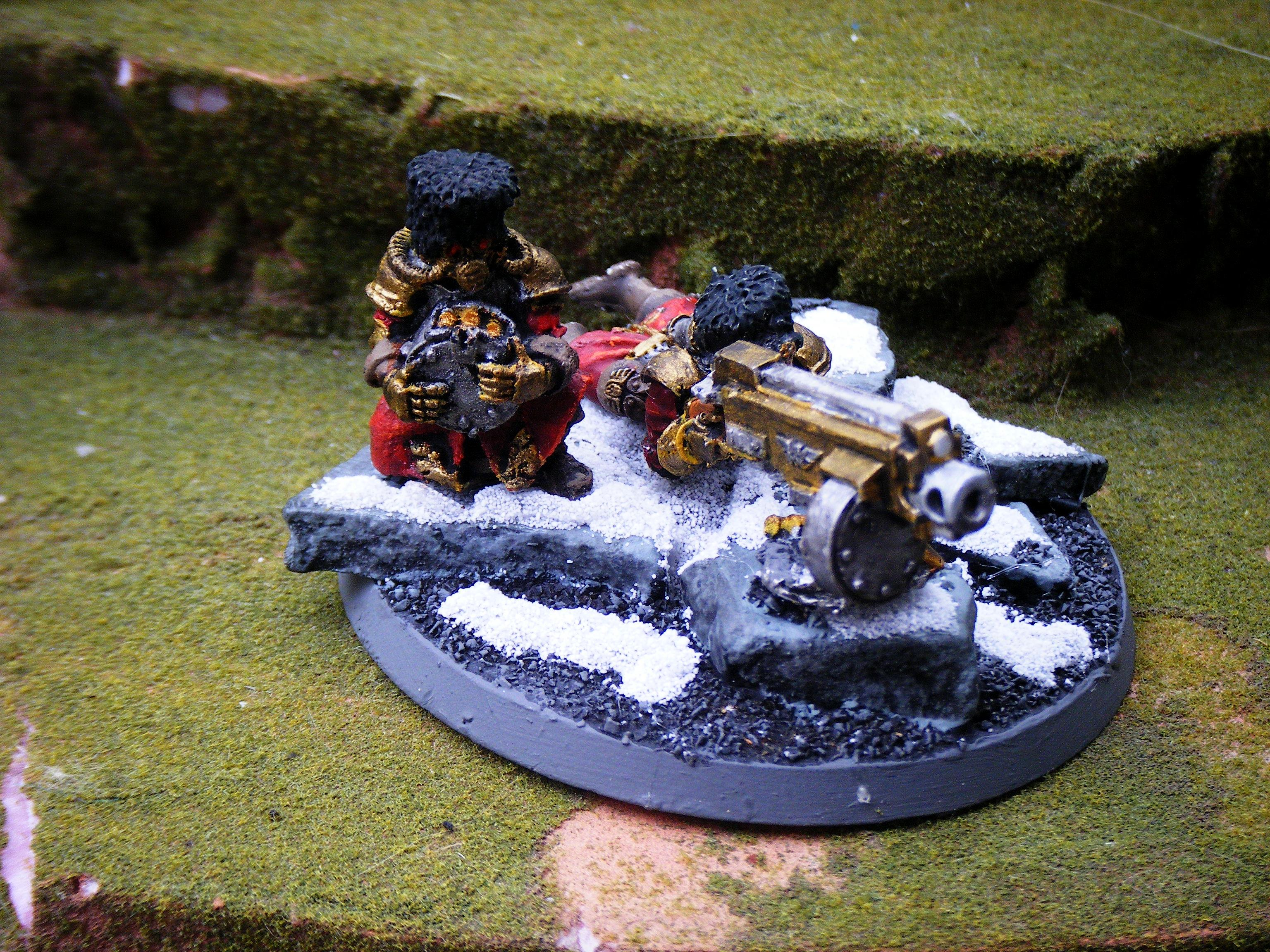Imperial Guard, heavy bolter team 2