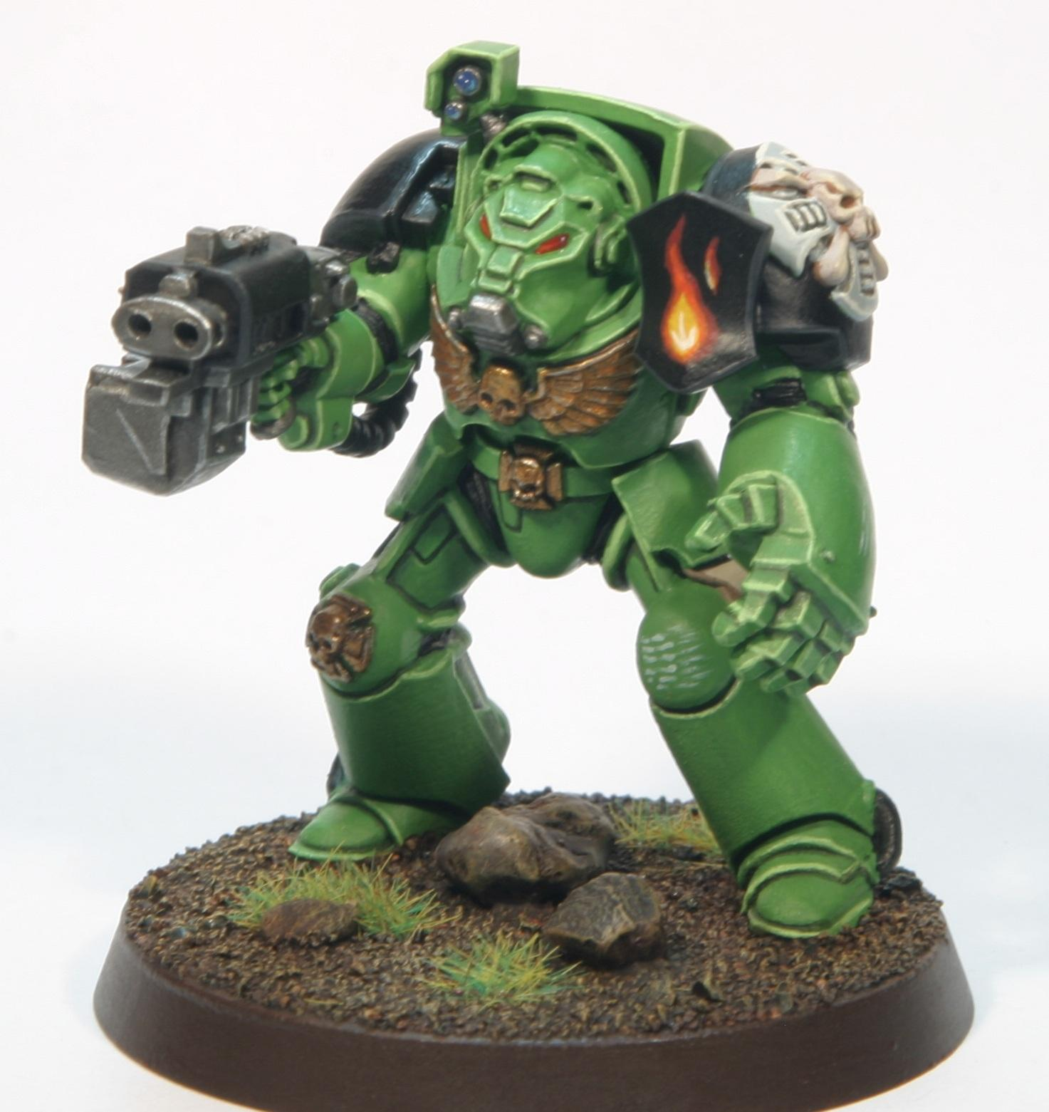 Crux Terminatus, Power Fist, Salamanders, Terminator Armor