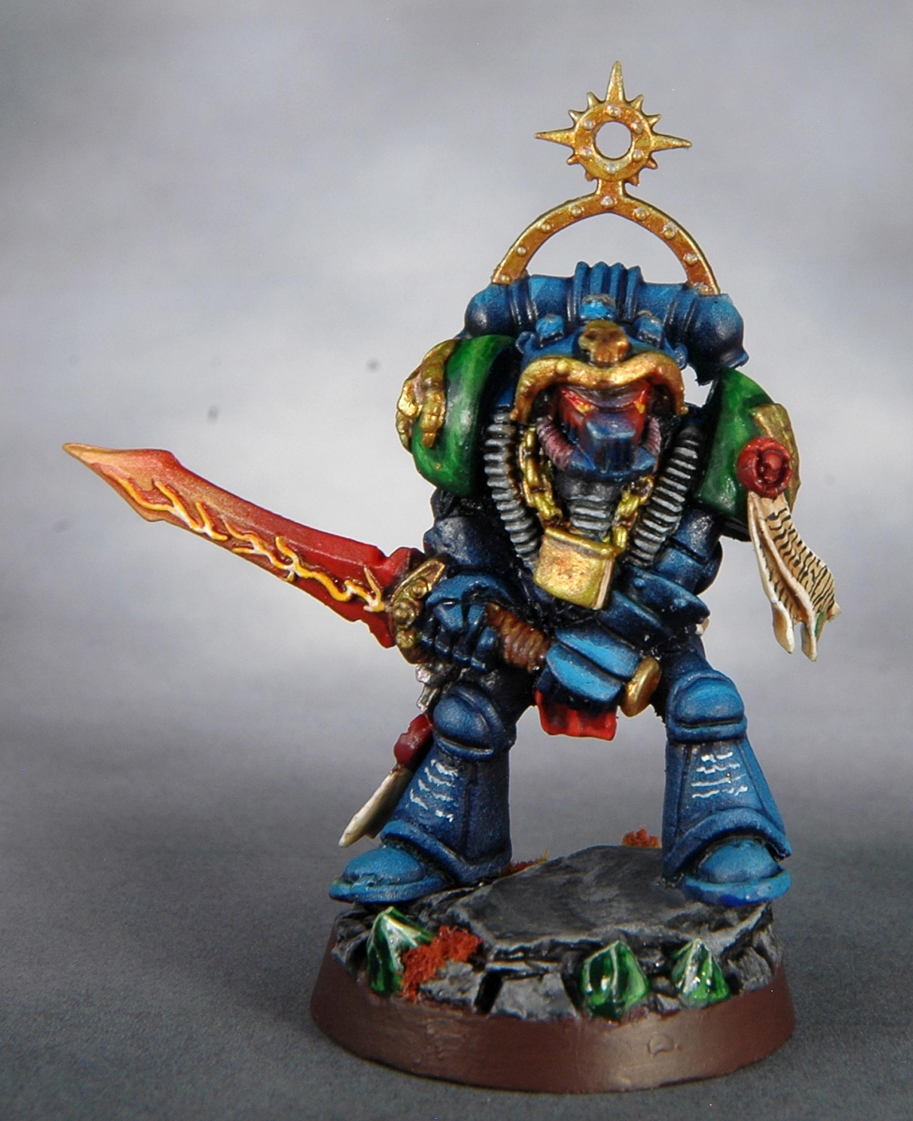 Librarian, Mantis Warriors, Out Of Production, Space Marines, Warhammer 40,000