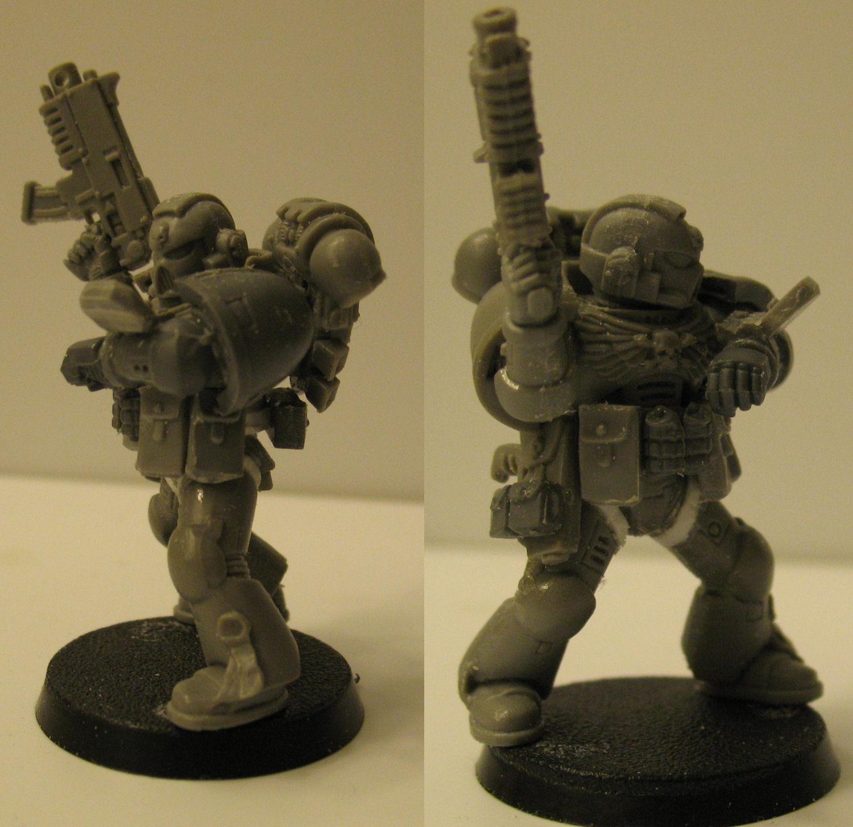 Auspex, Space Marines, True Scale