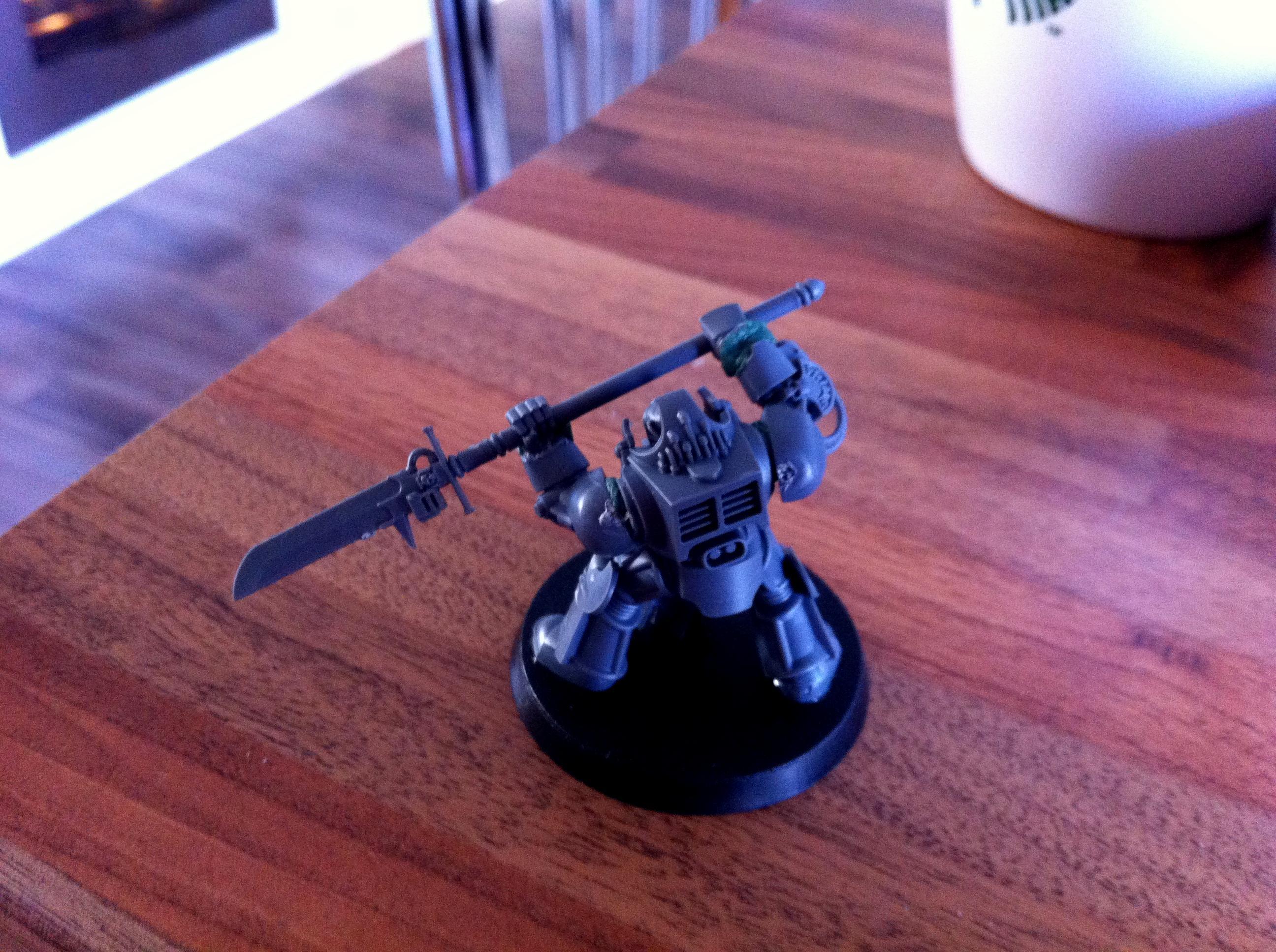Conversion, Custom, Dreadnought, Grey, Justicar, Knights, Terminator Armor, Thawn