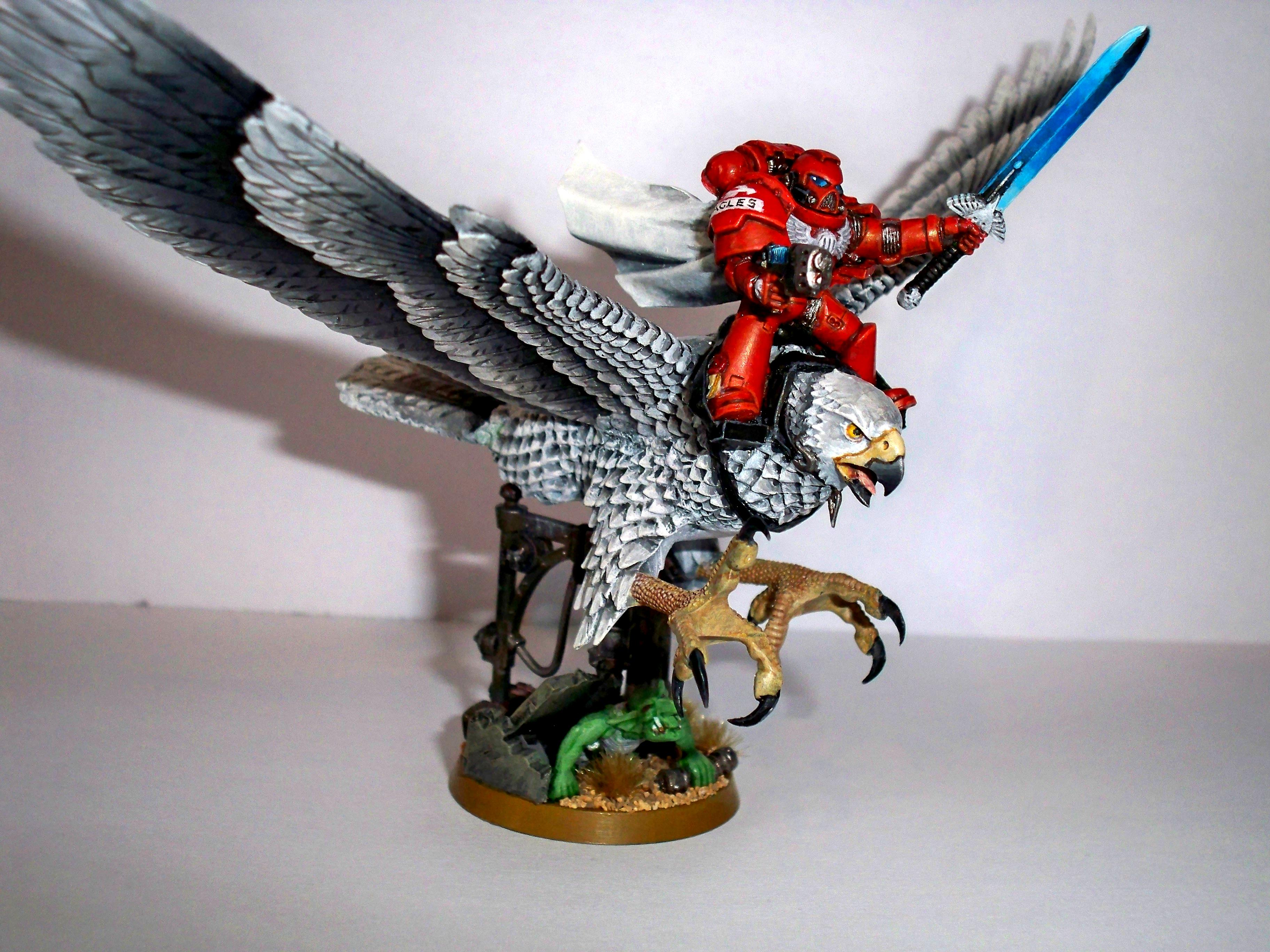 Chapter Master, Eagle, Greenstuff, Mephiston, Painting, Space Marines