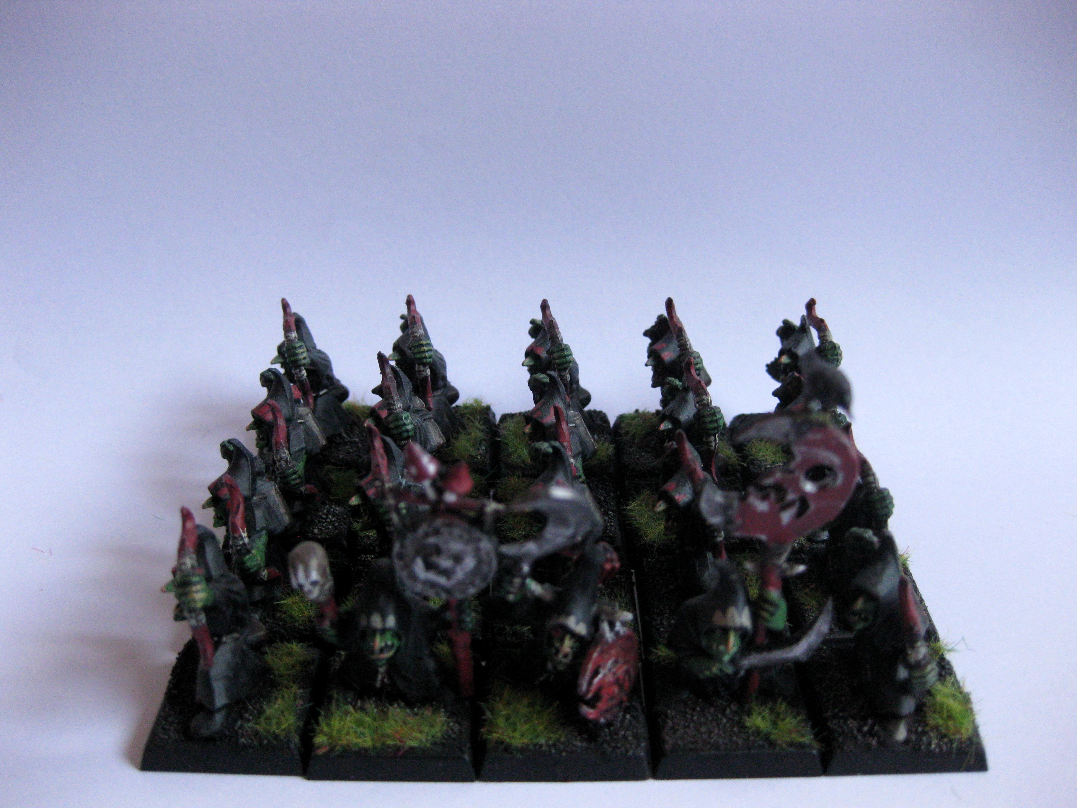 Archers, Gobbos, Goblins, Night, Warhammer Fantasy