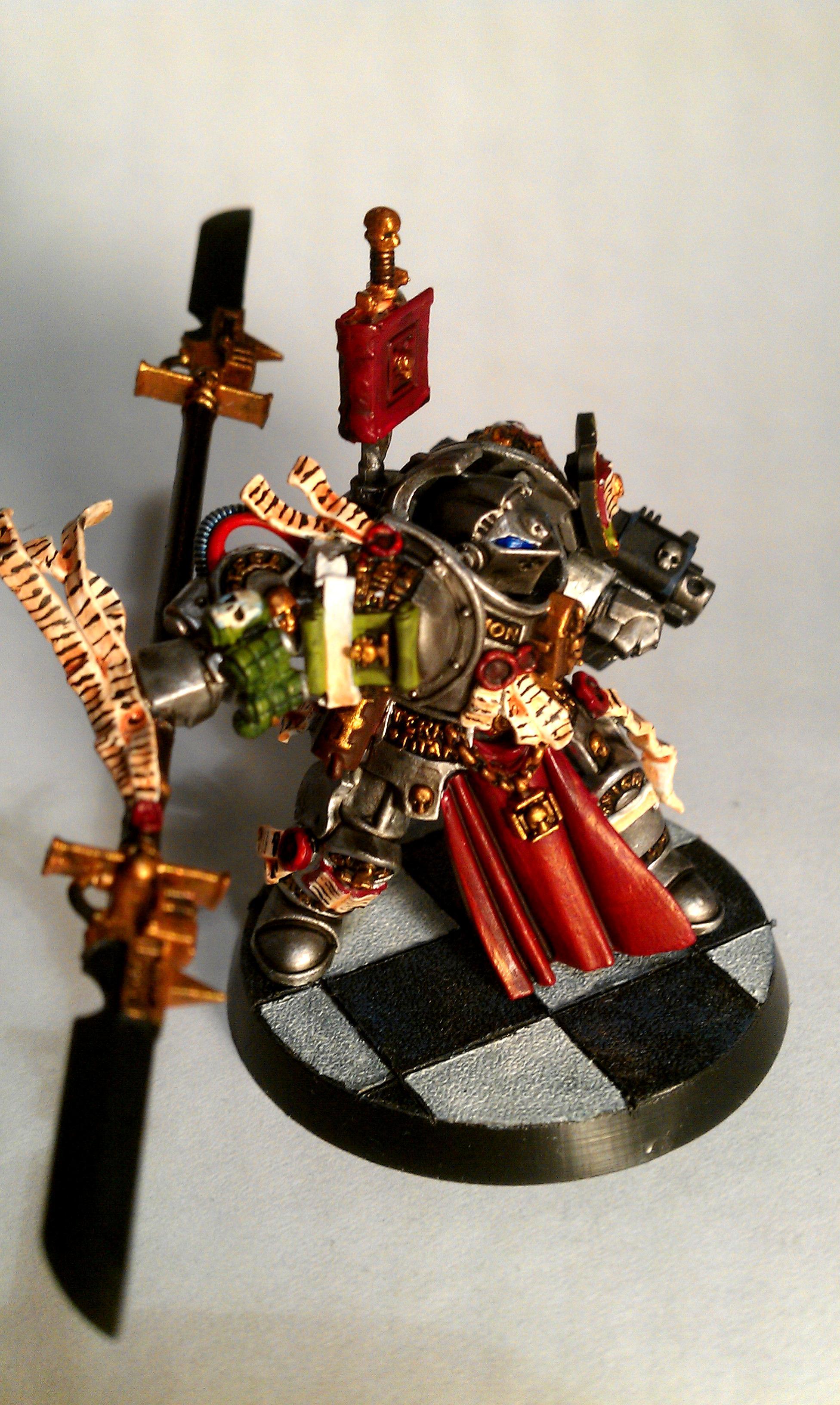 Gk, Grey Knights, Justicar, Paladin, Terminator Armor, Thawn