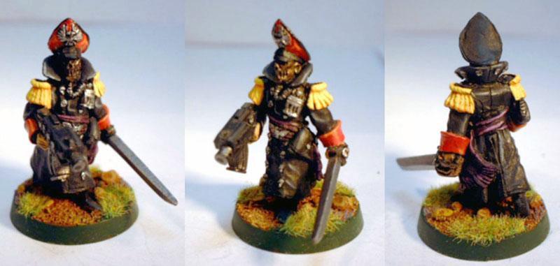 Commissar, Imperial Guard, Infantry Squad, Kasrkin, Lascannon
