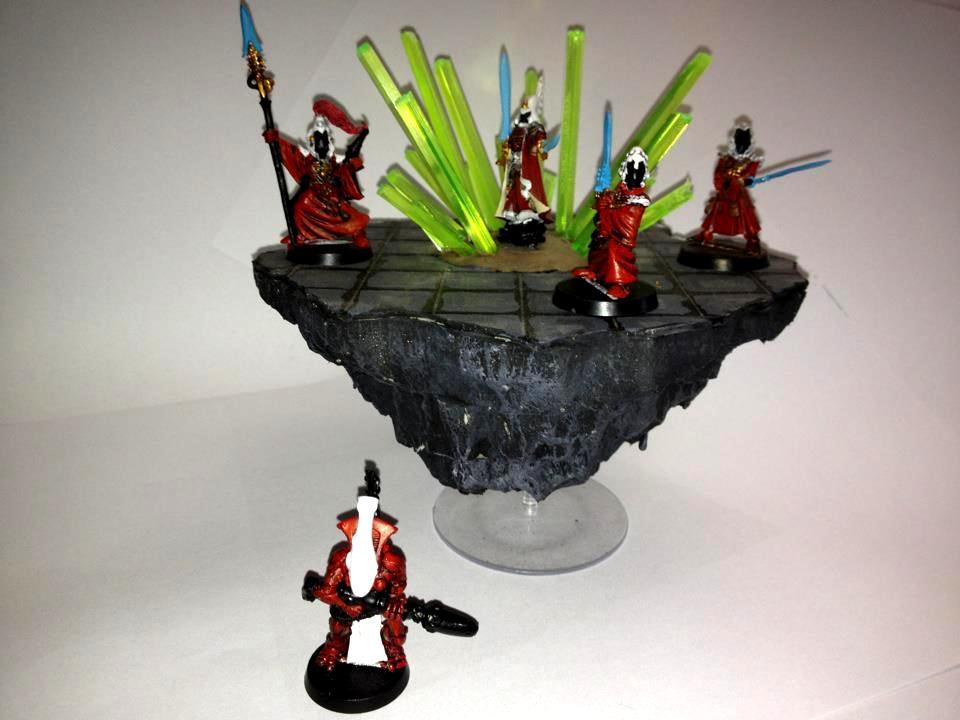 Crystal, Eldar, Farseer, Seer Council, Warlock
