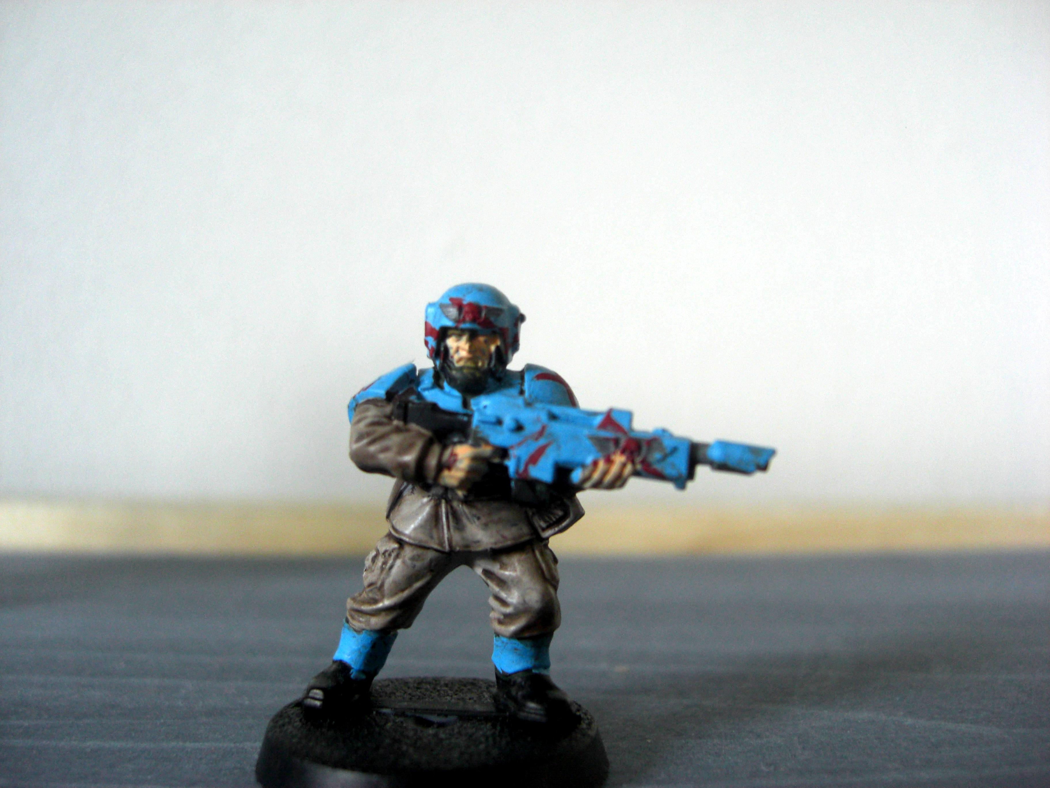 Traitor guardsman
