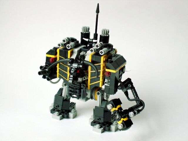 Black Legion Dreadnought, Chaos Dreadnought, Dreadnought, Lego, Lego Chaos Dreadnought, Lego Dreadnought