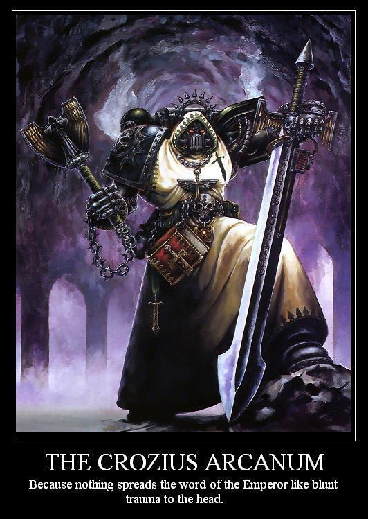 Chaplain, Dark Angels