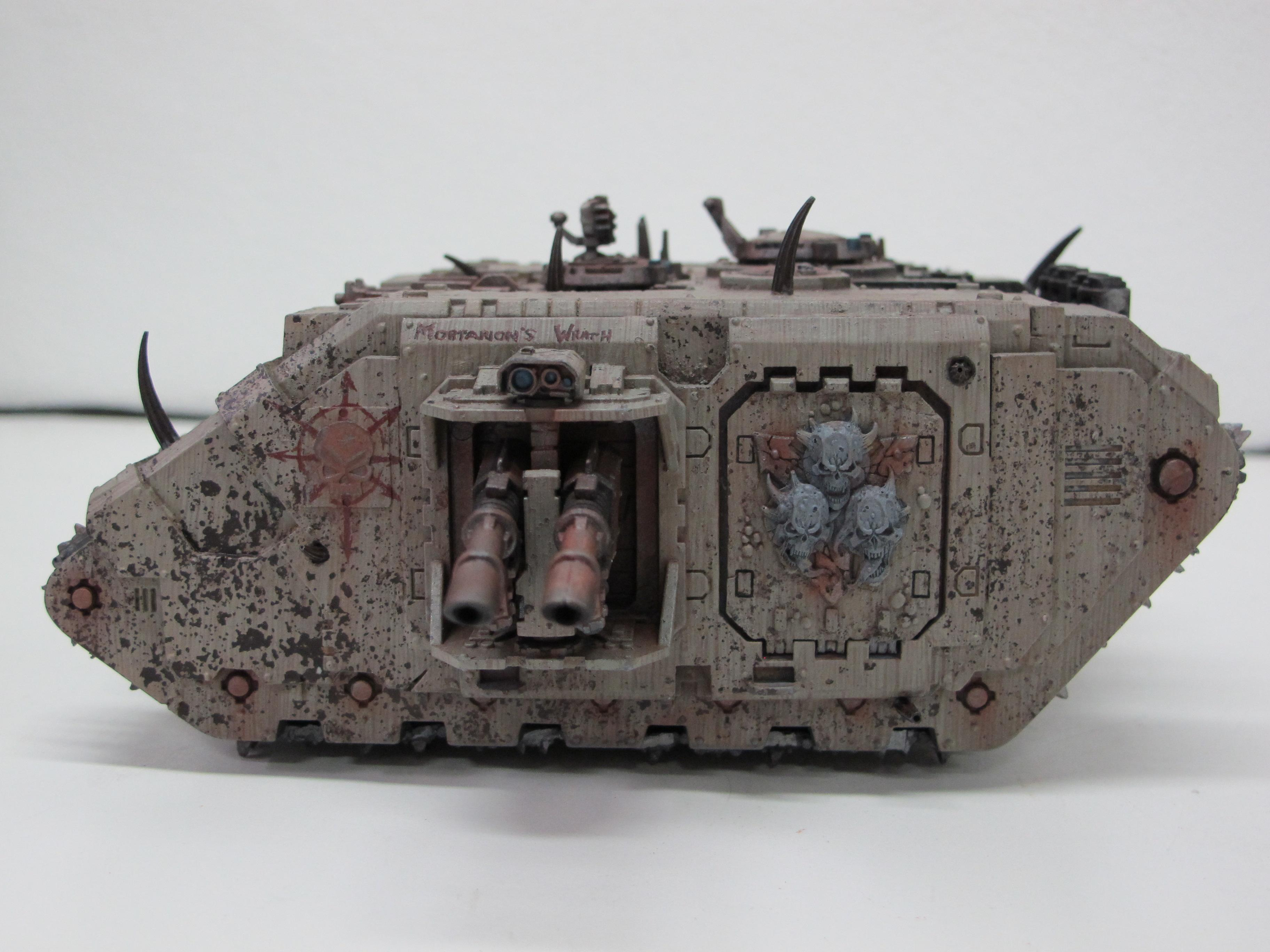 Chaos, Chaos Space Marines, Death Guard, Heretic, Land Raider, Lords Of Decay, Nurgle, Plague Marines, Renegade, Rust, Vraks