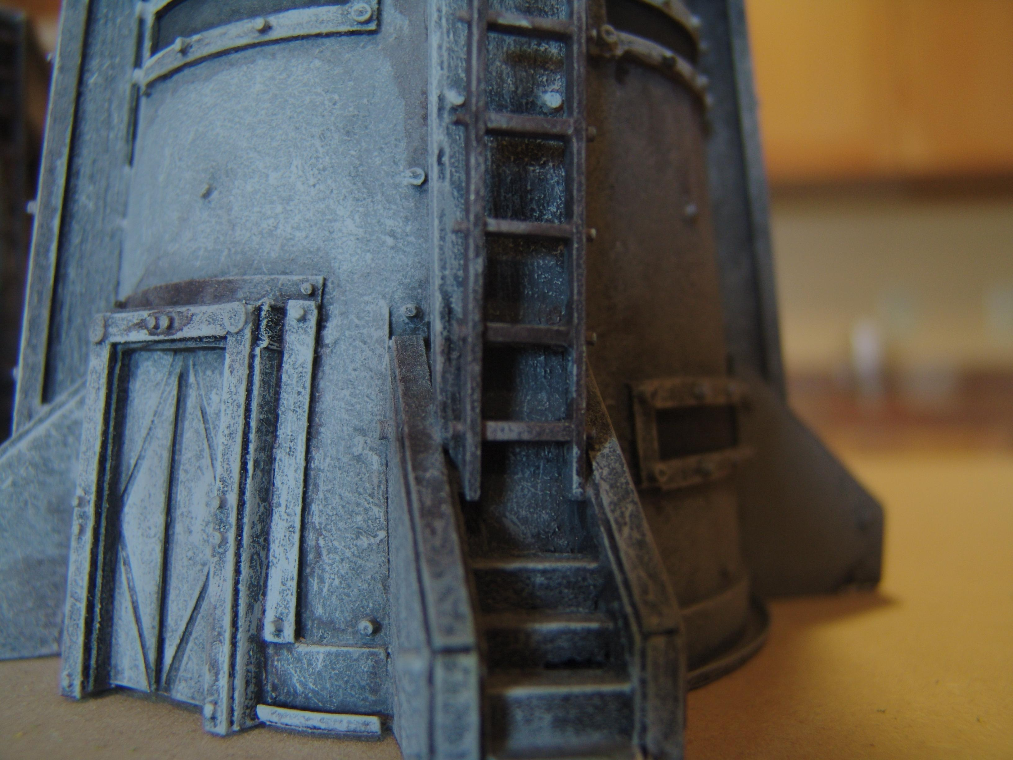 Balsa Wood, Bastion, Bunker, Foamboard, Imperial, Ladder, Planetstrike, Rivets, Scratch Build, Terrain
