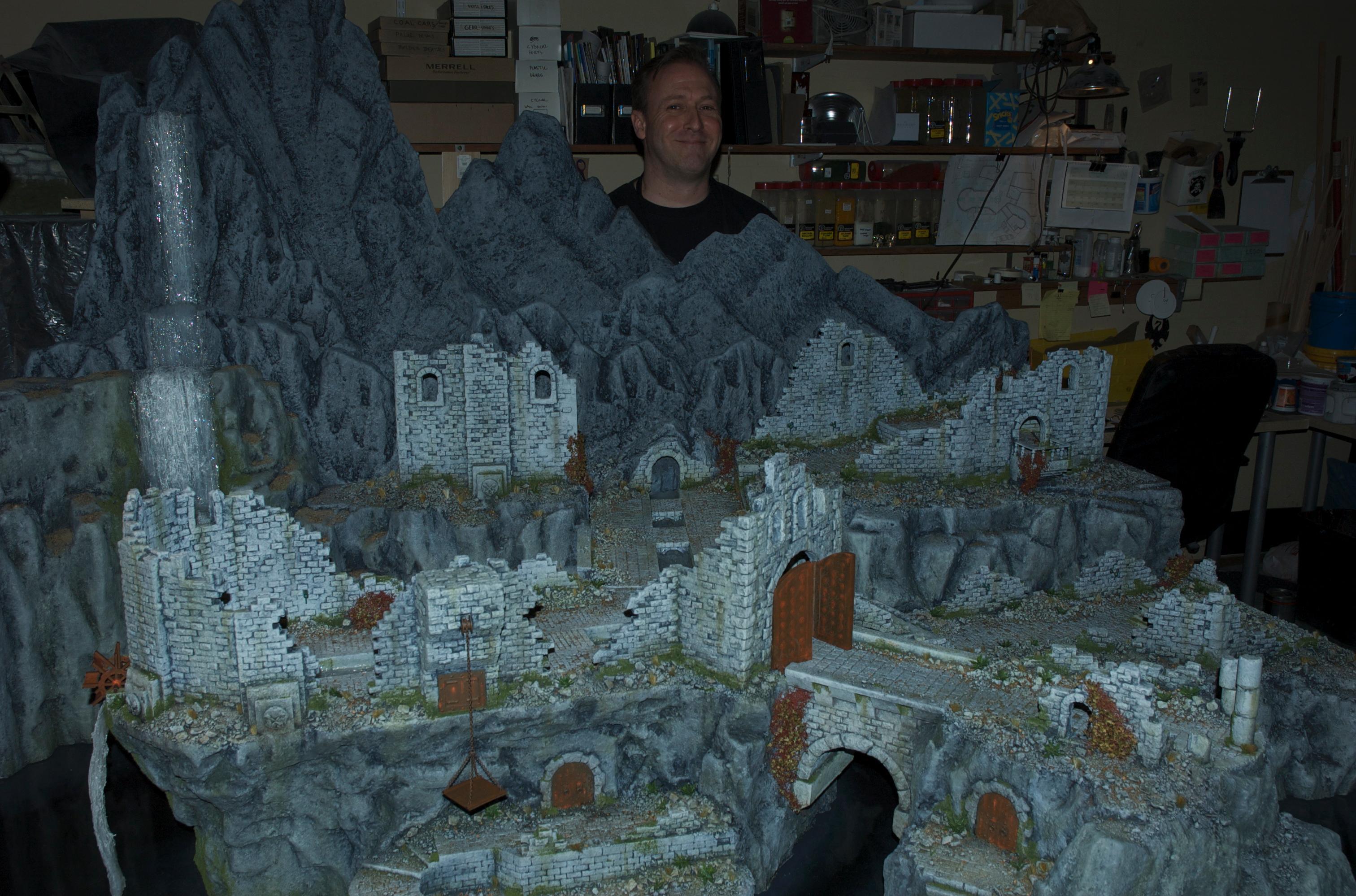 City, Hirst Arts, Terrain, Warhammer Fantasy, Warmachine