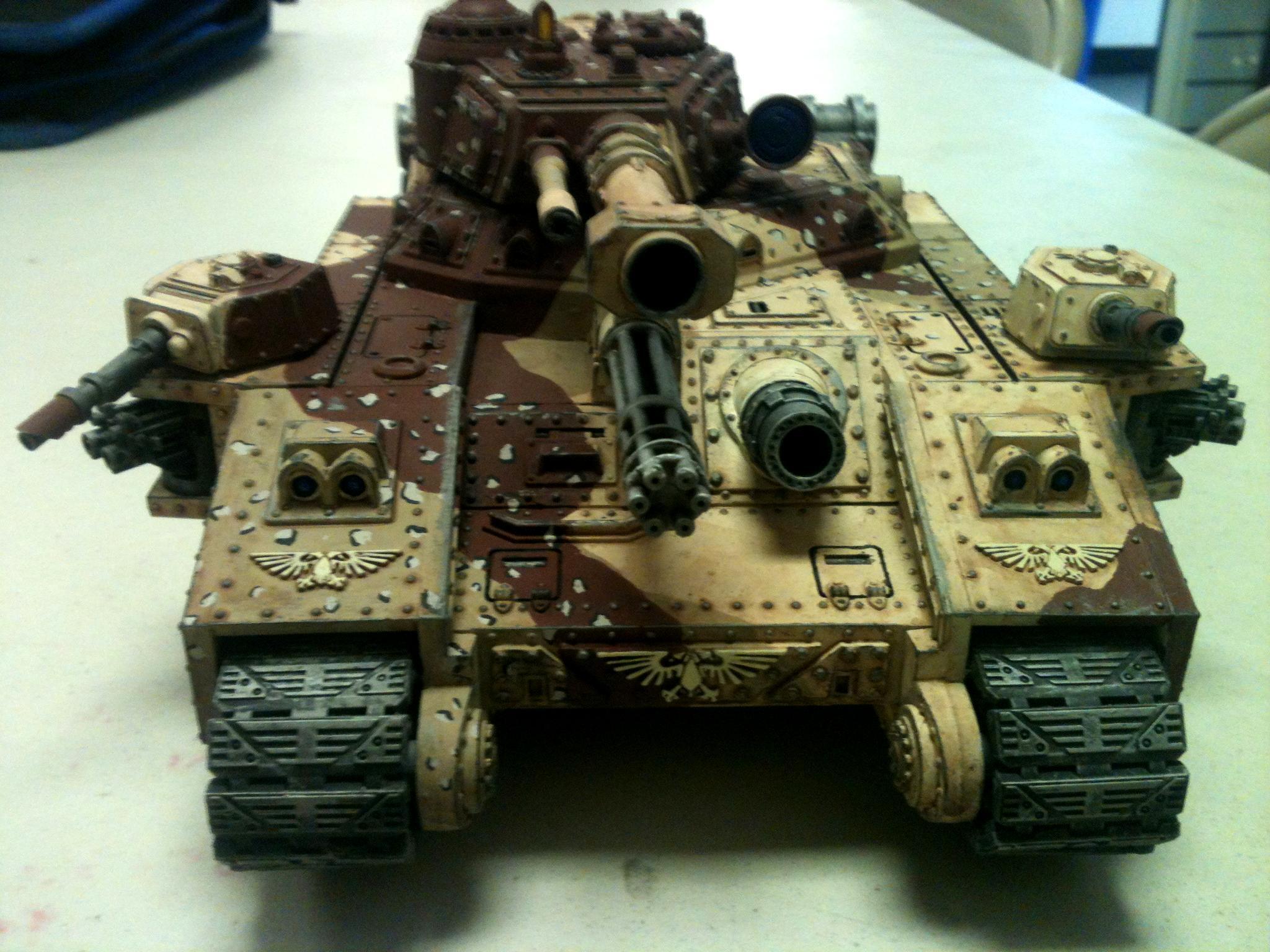 Baneblade, Desert Camo, Super-heavy, Warhammer 40,000