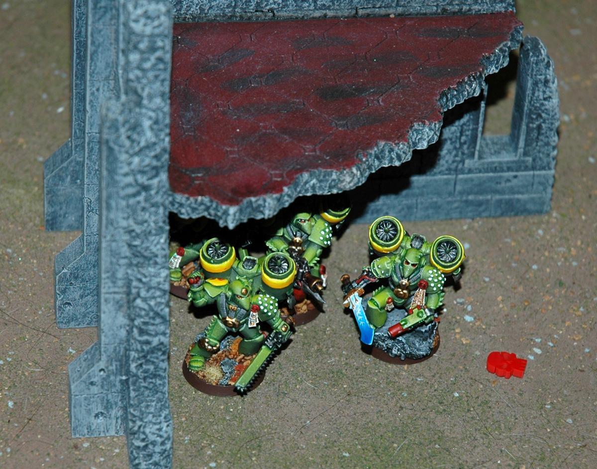 Battle Report, Mantis Warriors, Space Marines, Tyranids, Warhammer 40,000