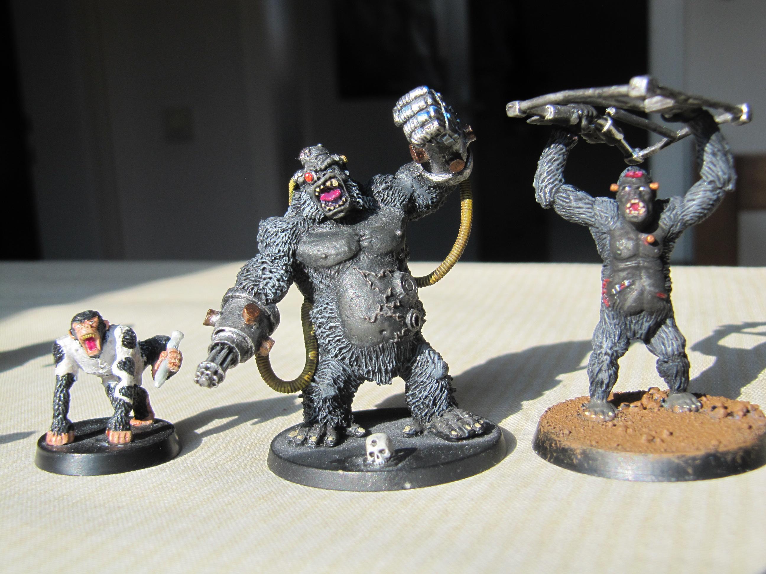 Affe, Ape, Cyborg, Gorilla, Kriegaffe, Monkey