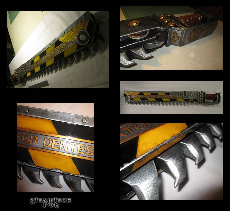 Chain Sword, Chainsword, Lifesize, Prop, Replica