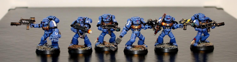 Flamer, Meltagun, Plasma, Space Marines, Special Weapons, Ultramarines, W40k, Warforge, Warhammer 40,000