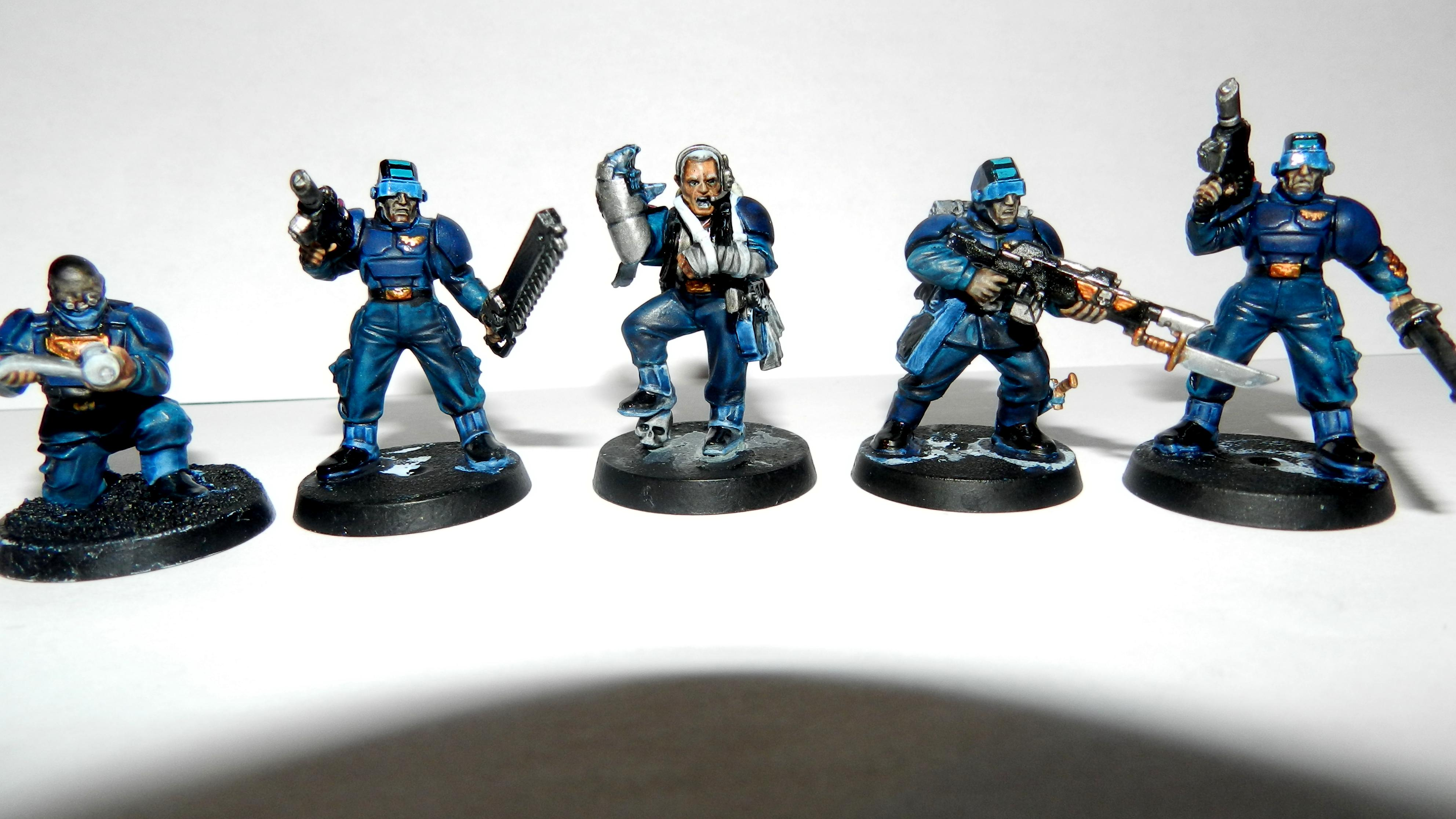 Adeptus Arbites, Cadians, Ccs, Command Squad, Commander, Company Command Squad, Conversion, Count As, Drop Troop, Elysian, Elysians, Gears Of War, Grenadier, Grenadiers, Guardsmen, Headquarters, Imperial Guard, Infantry, Junior Officer, Officer, Officers, Plasma Gun, Platoon, Power Fist, Seargant, Warhammer 40'000, Warhammer 40,000, Work In Progress