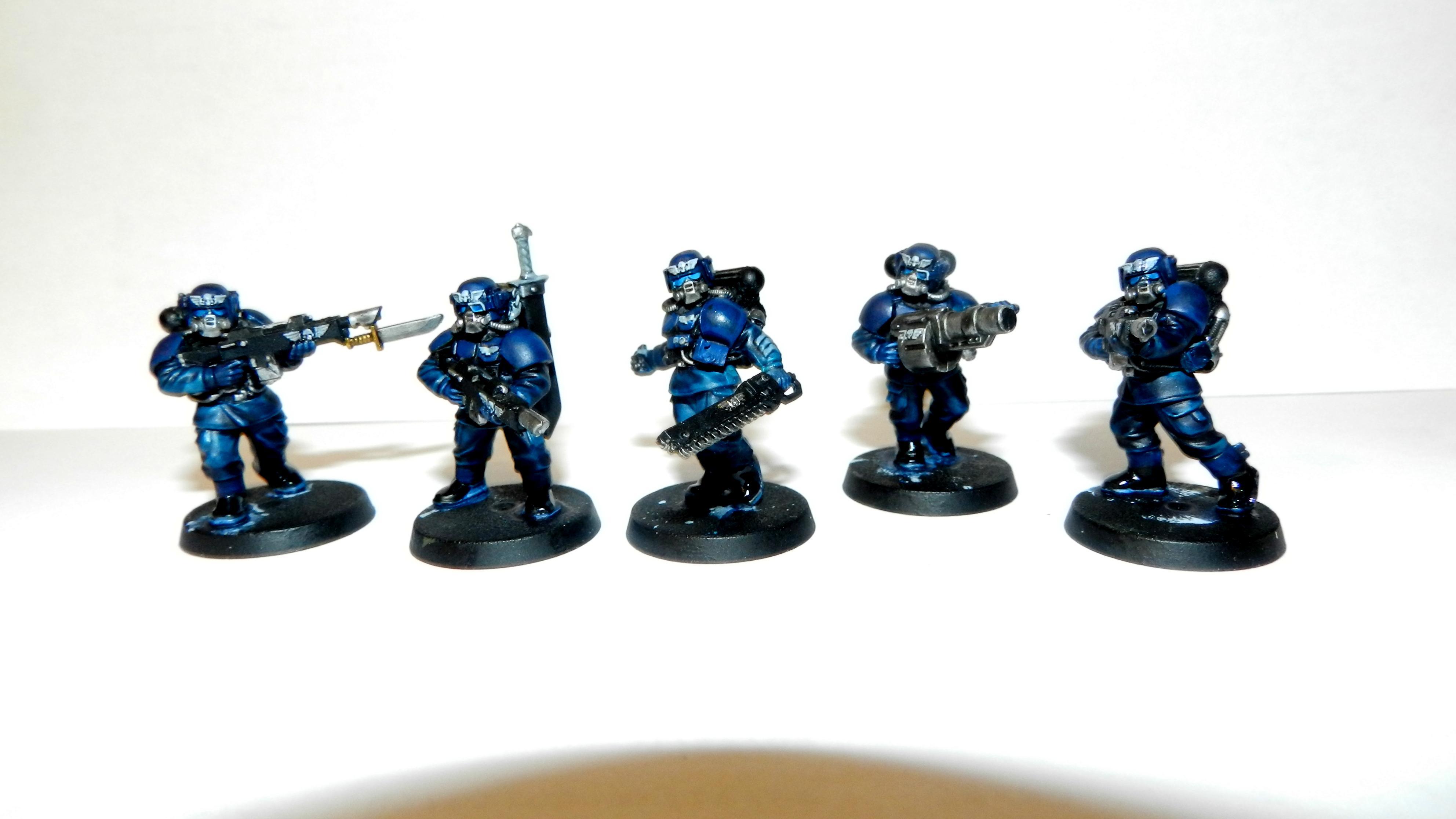 Imperial Guard, Infantry, Veteran