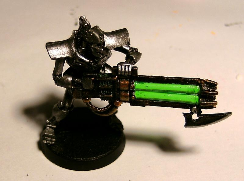 Immortal, My First Mini, Necrons, Ouze, Warhammer 40,000