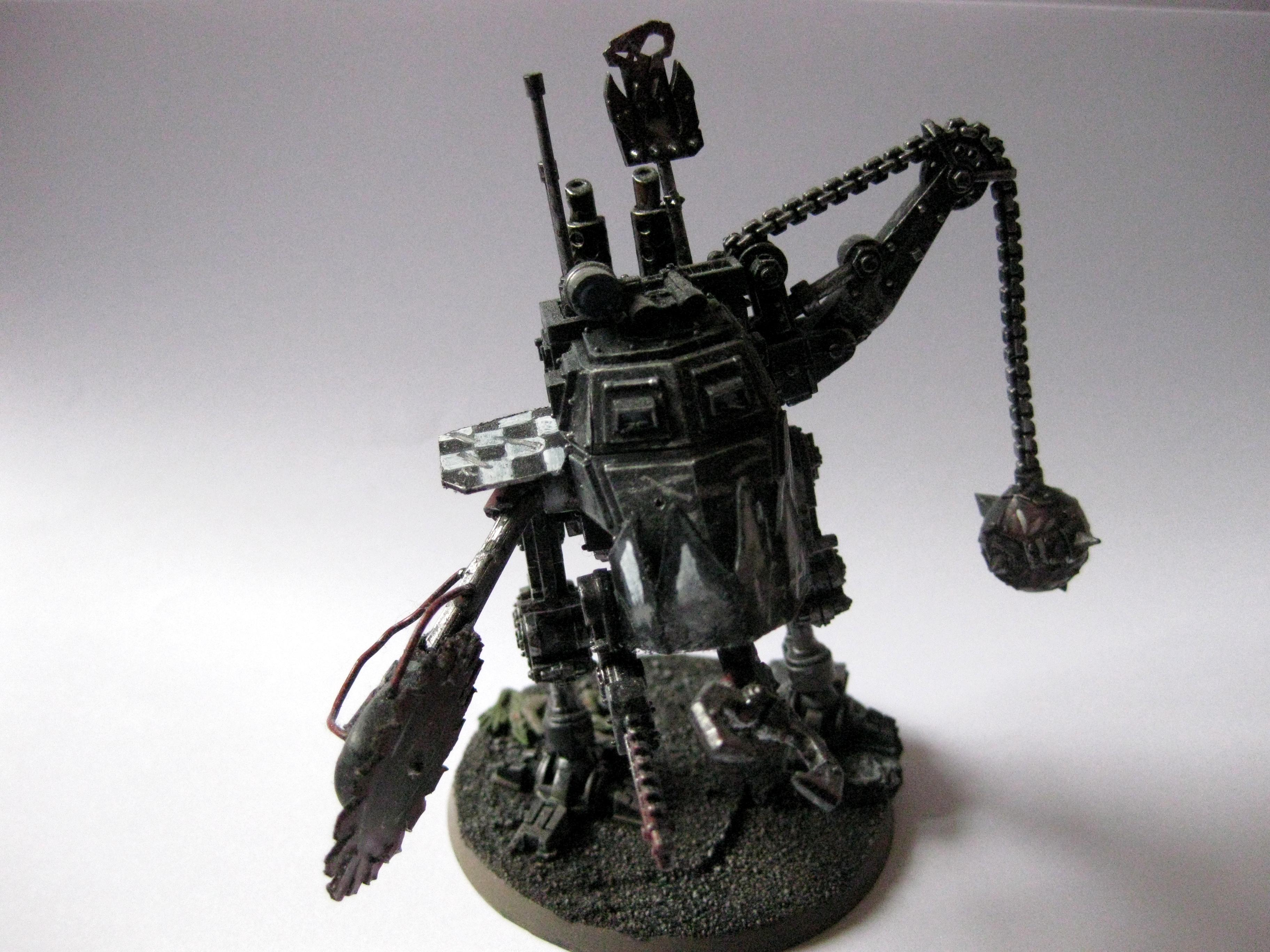 Deff Dread, Dreadnought, Guard Abuse, Looted, Orks, Sentinel, Warhammer 40,000