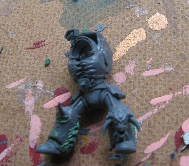 Assault Terminators, Chaos, Chaos Space Marines, Conversion, Work In Progress