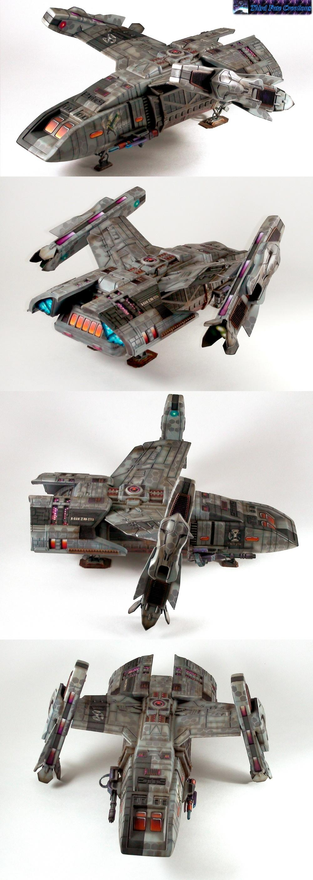 Conversion, Drop Ship, Flyer, Runabout, Shuttle, Star Trek, Vtol