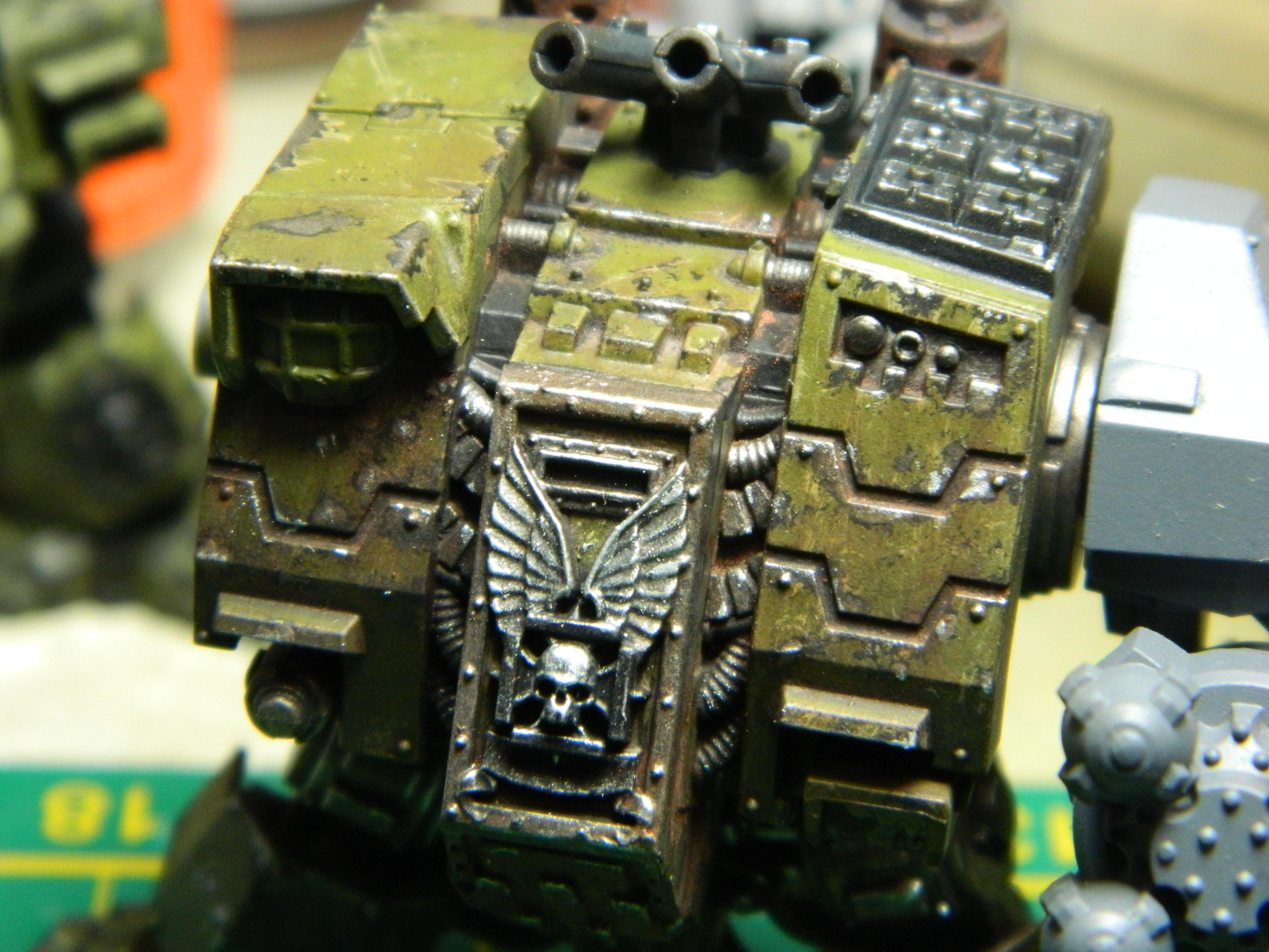Dreadnought, Ironclad, Weathered