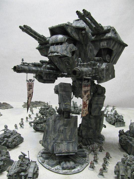 Apocalypse, G, Guard, I, Imperial, Snow, Titan, Warlord