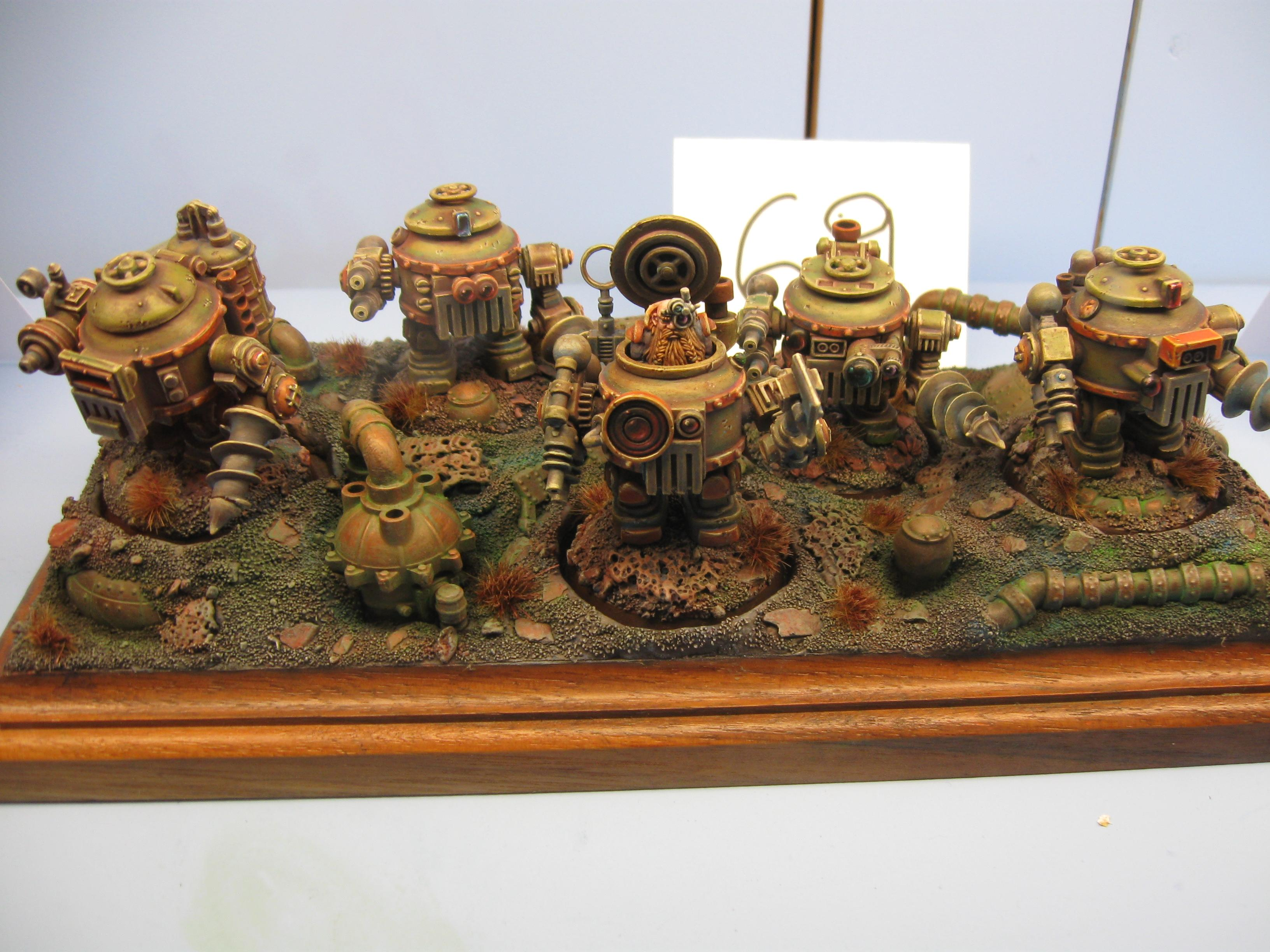 Adepticon 2012, Crystal Brush, Dwarven Suits