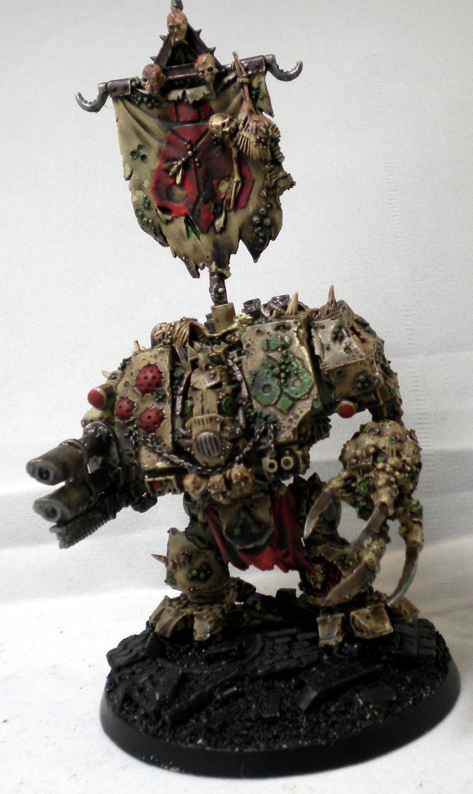 Death Guard, Dreadnought, Nurgle, Plague Marines