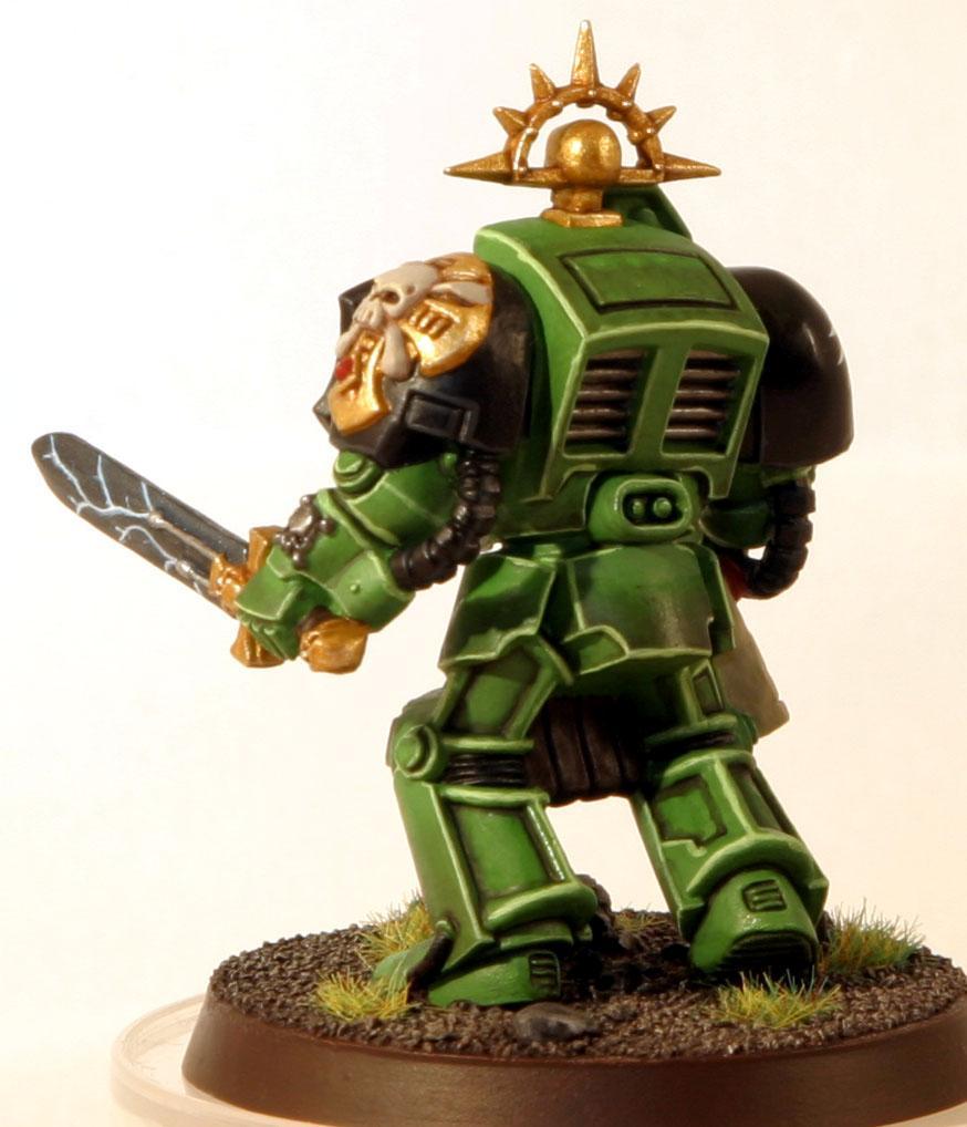 Salamanders, Sergeant, Terminator Armor