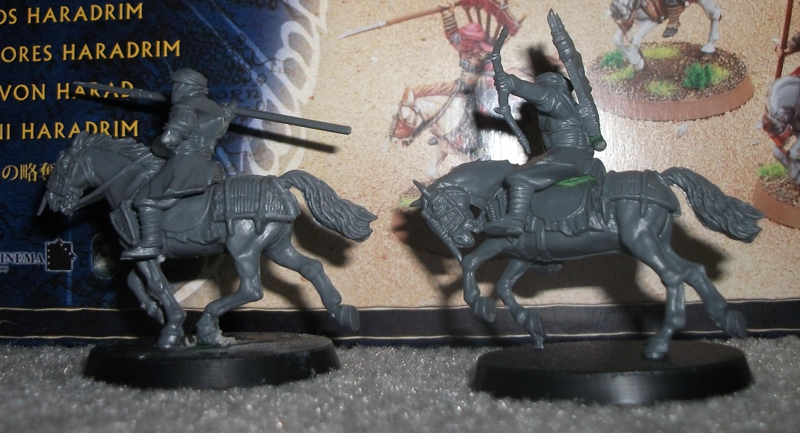 Harad, WIP Serpent Rider and Raider