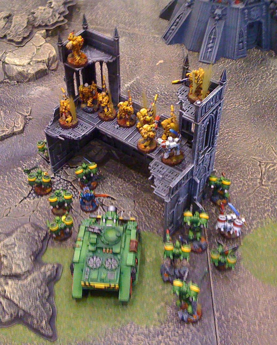 MW First Deployment at Adepticon 2012