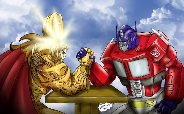 Emperor, Humor, Optimus Prime, Transformers