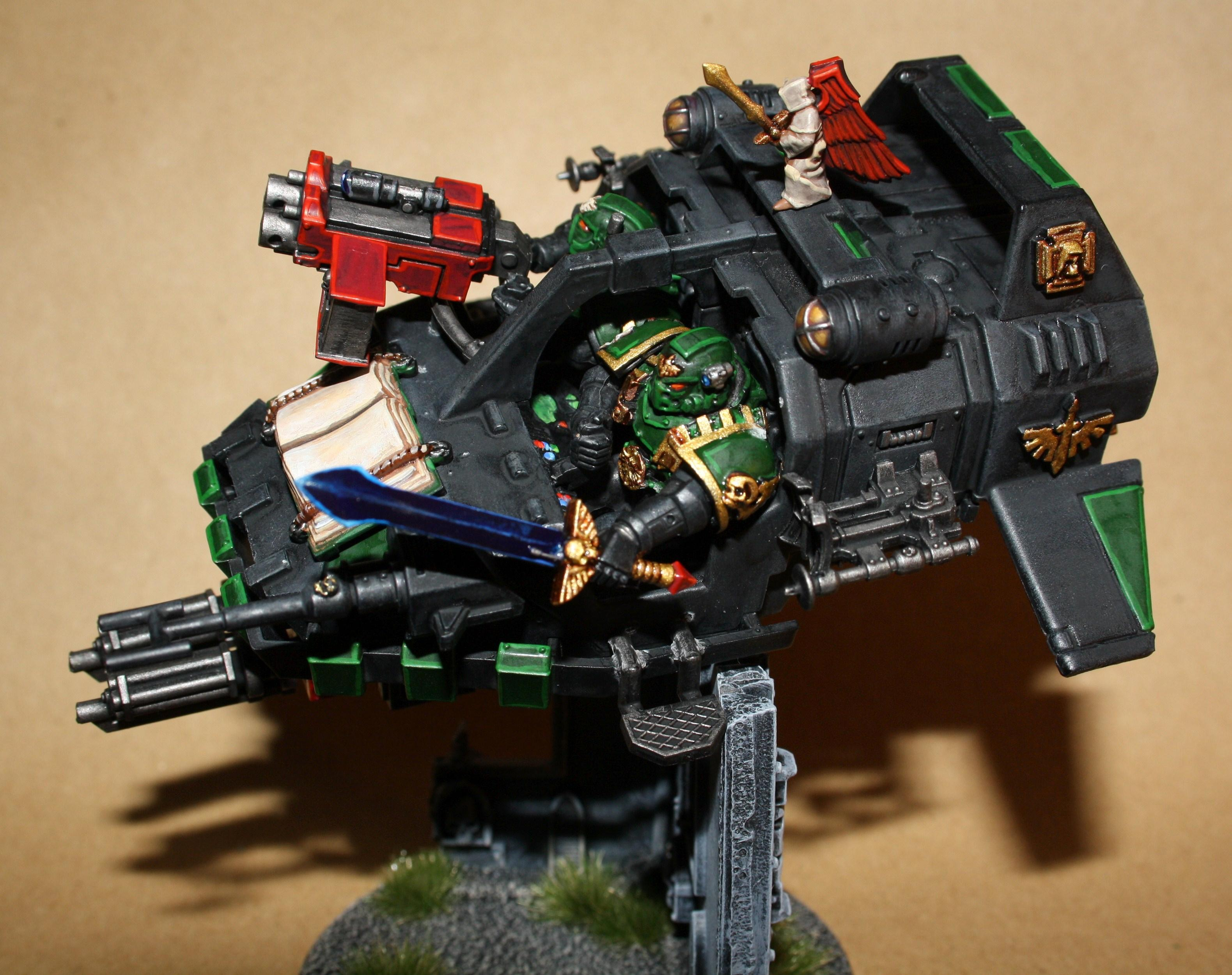 Dark Angels, Disciples Of Caliban, Master Of The Ravenwing, Space Marines, Warhammer 40,000