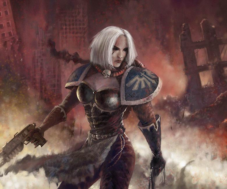 Dominon, Female, Sisters Of Battle