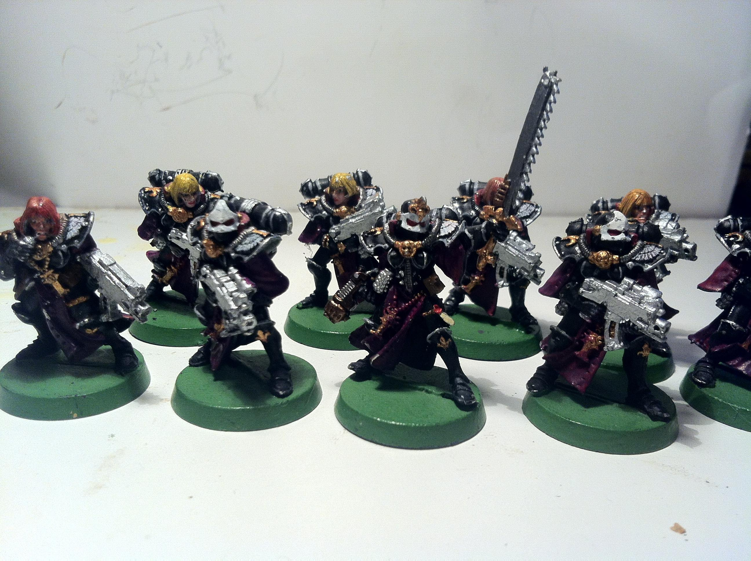 Sisters Of Battle, Battle Sister Squad A1