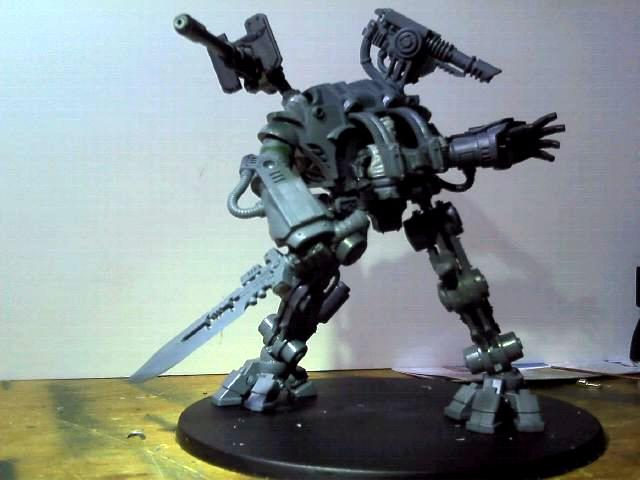 Conversion, Dreadknight, Guard, Imperial Guard, Mecha, Sentinel, Walker