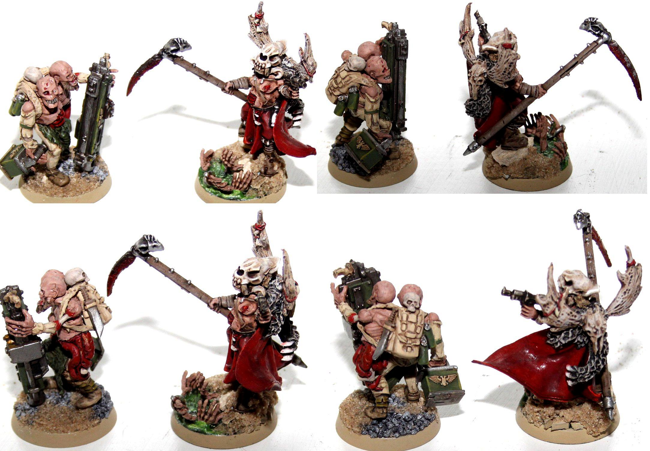 Cultists, Psyker, Rogue, Traitor Guard, Zombie